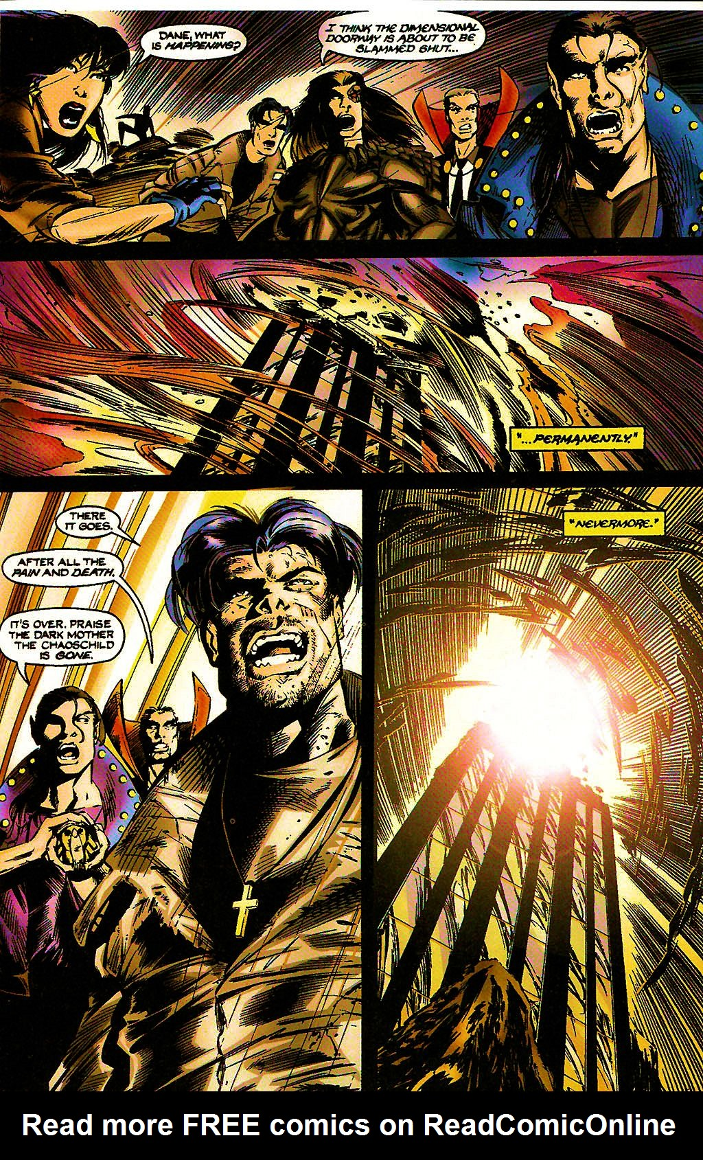 Read online Chains of Chaos comic -  Issue #3 - 30