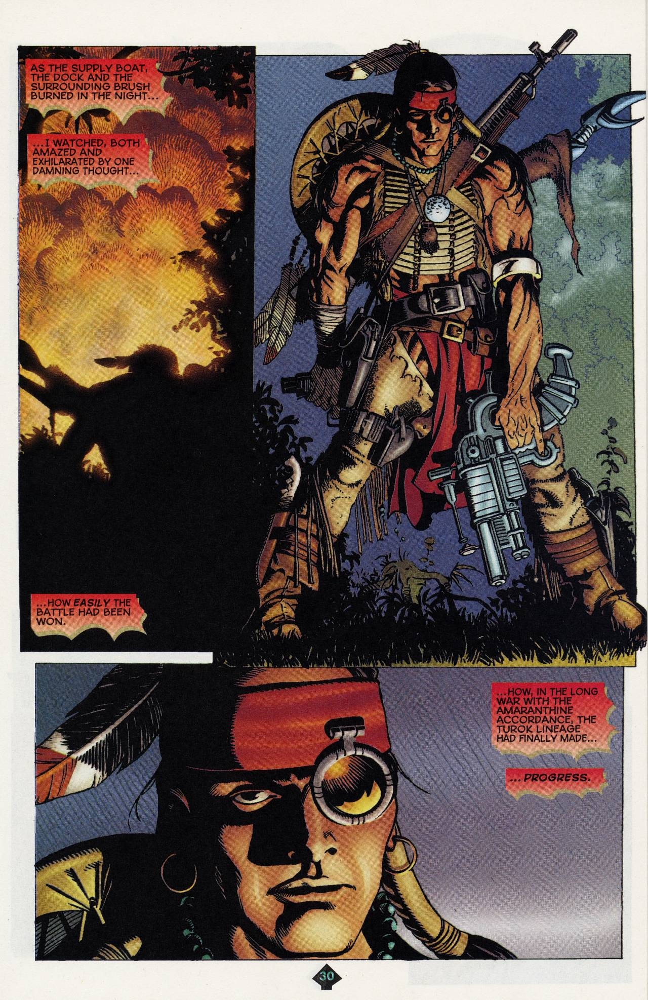 Read online Turok: Tales of the Lost Land comic -  Issue # Full - 27