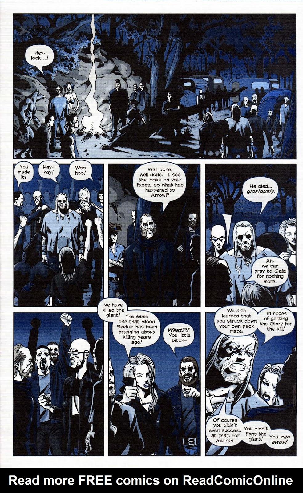 Read online Werewolf the Apocalypse comic -  Issue # Get of Fenris - 43