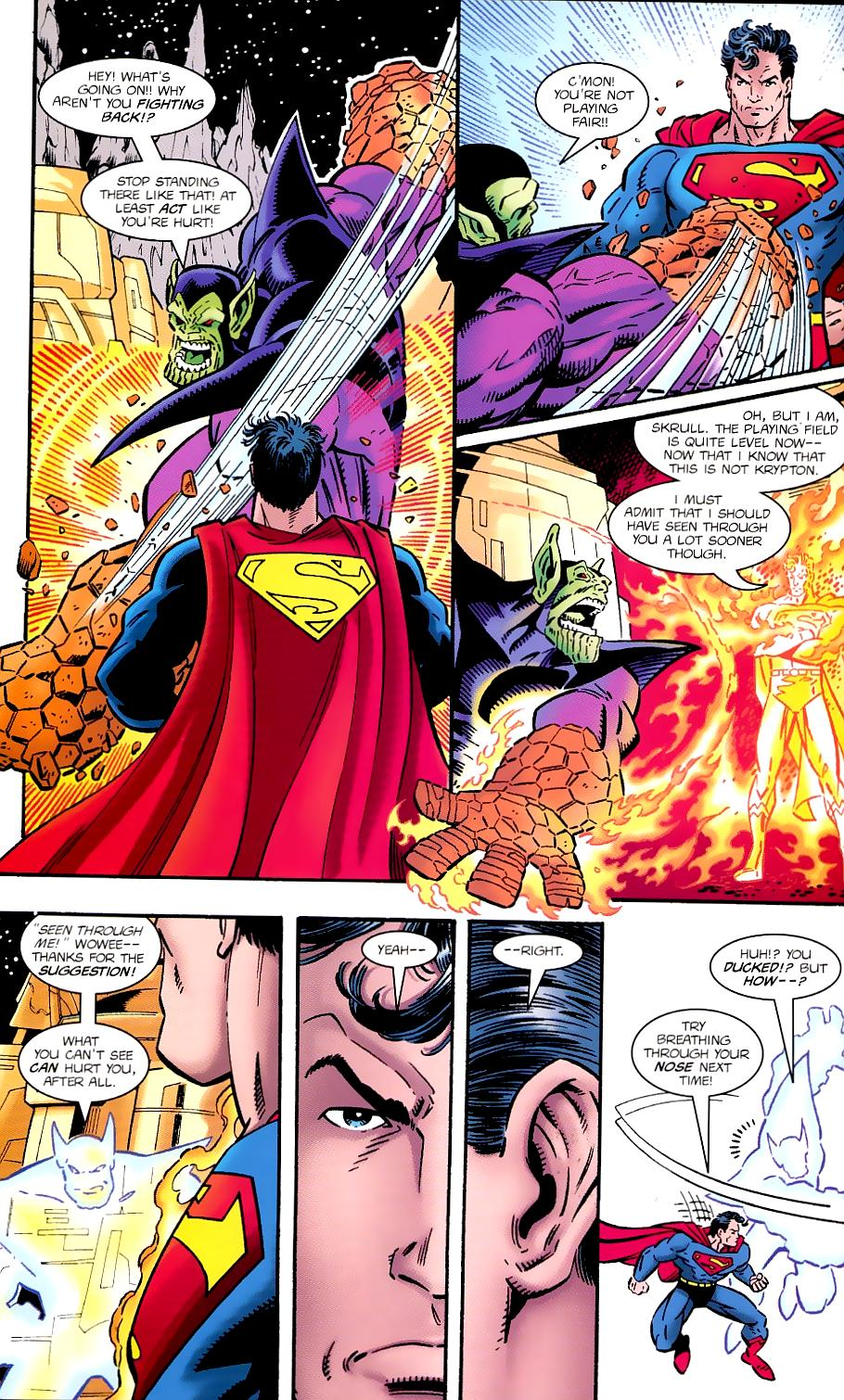 Read online Silver Surfer/Superman comic -  Issue # Full - 28