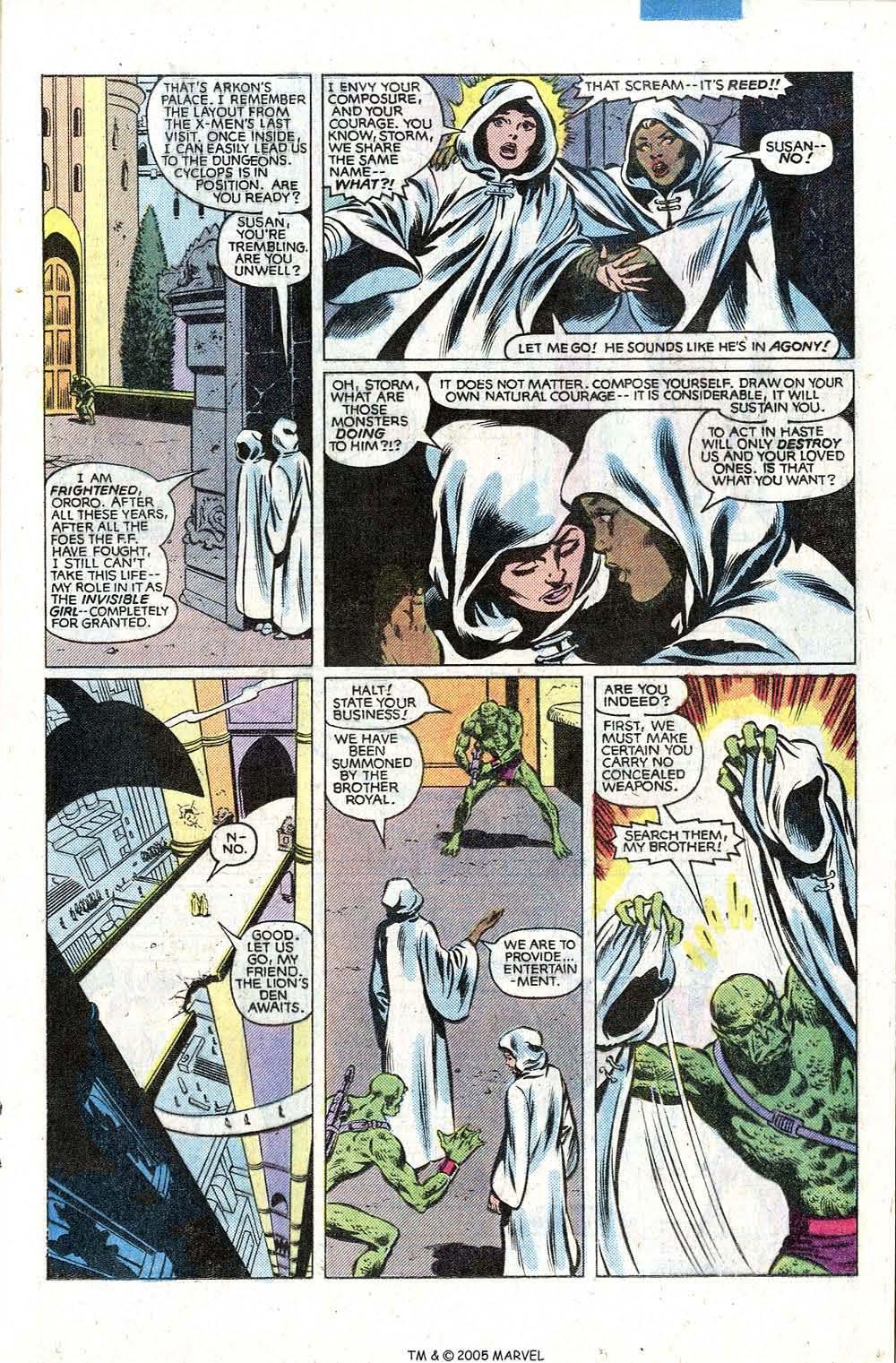 Read online Uncanny X-Men (1963) comic -  Issue # _Annual 5 - 25