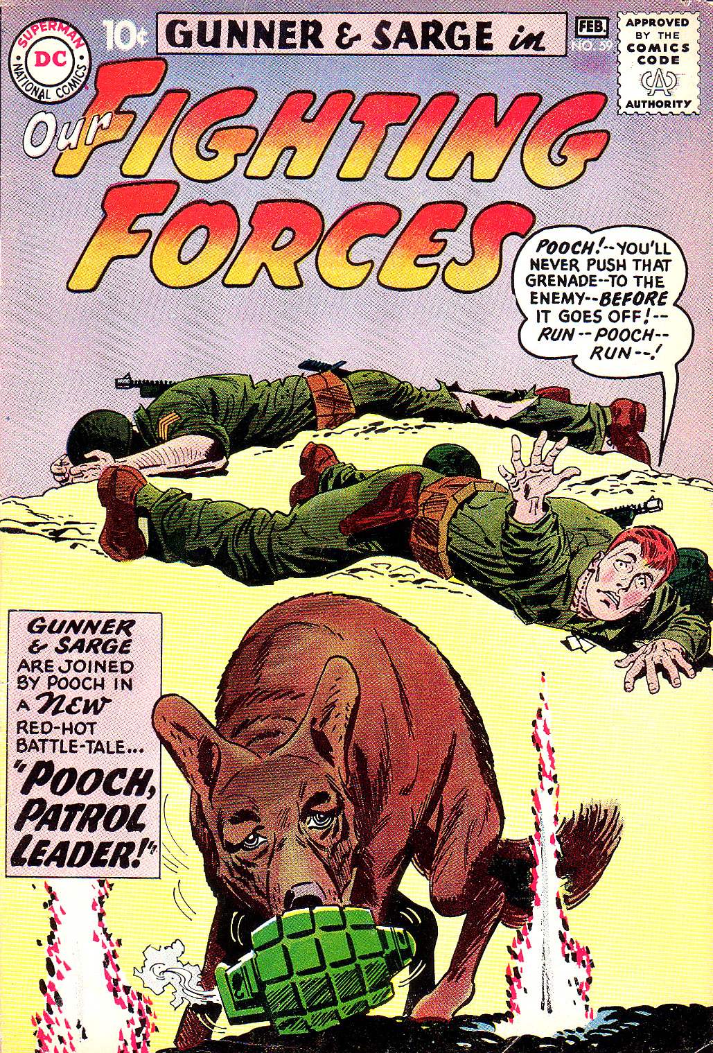 Our Fighting Forces (1954) issue 59 - Page 1