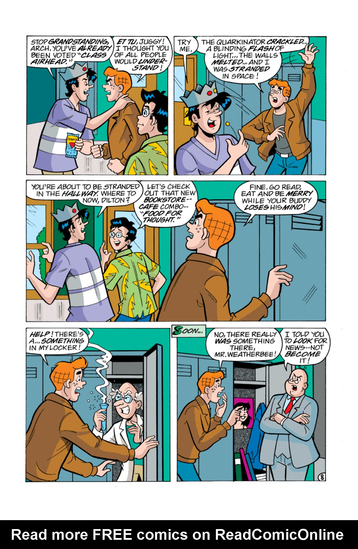 Read online Archie's Weird Mysteries comic -  Issue #1 - 9