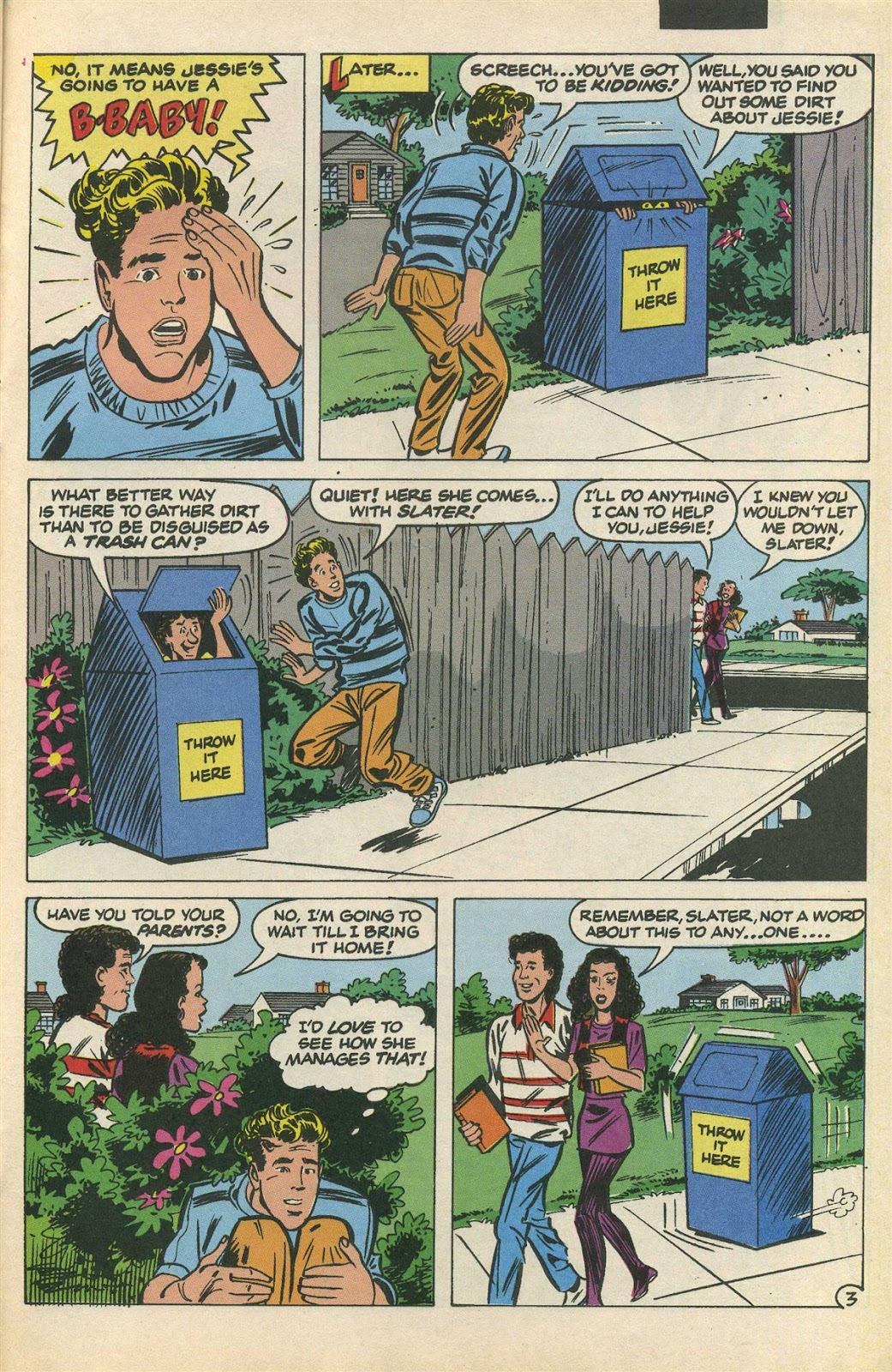 Read online Saved By The Bell comic -  Issue #3 - 22