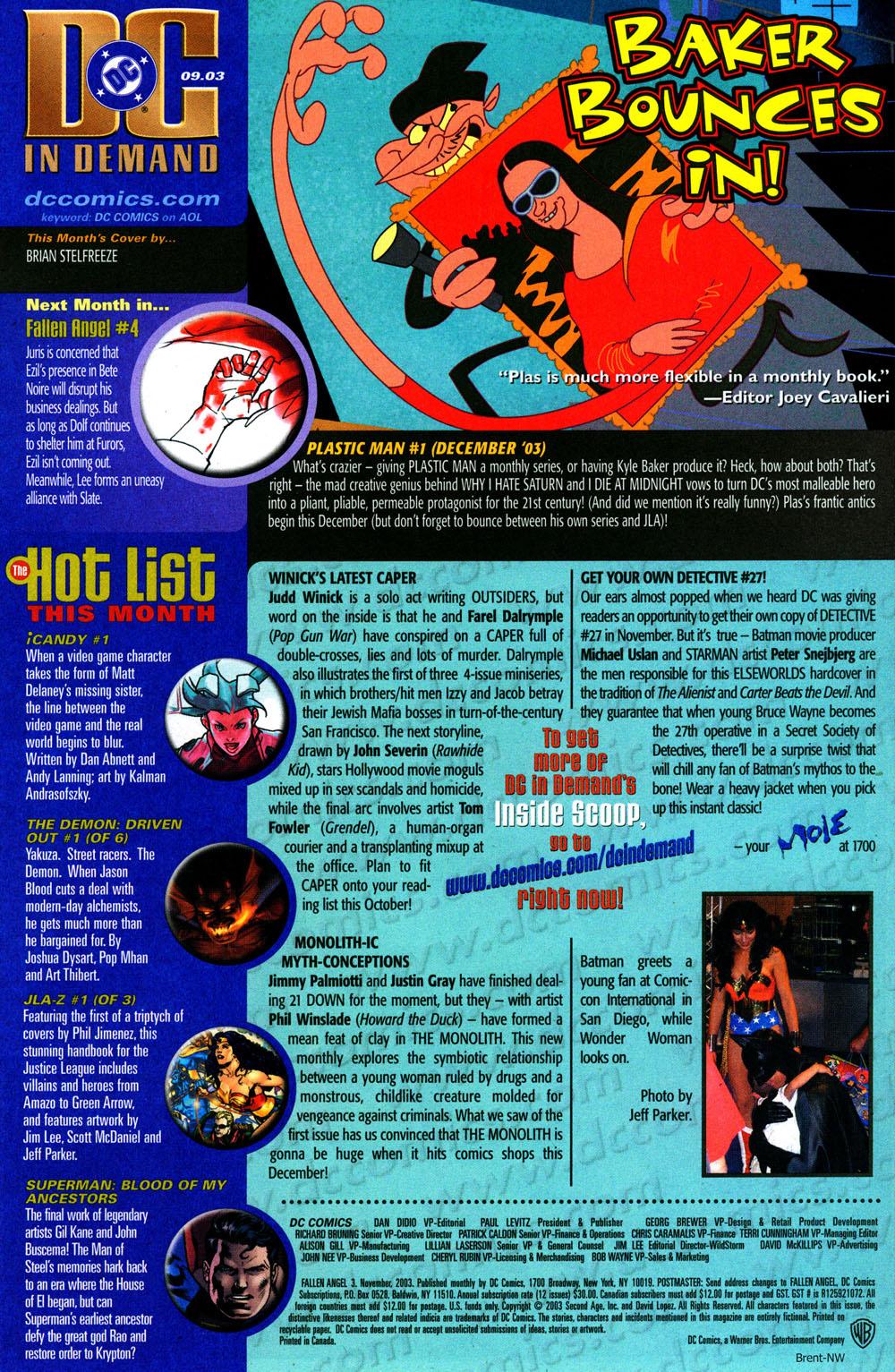 Read online Fallen Angel (2003) comic -  Issue #3 - 24