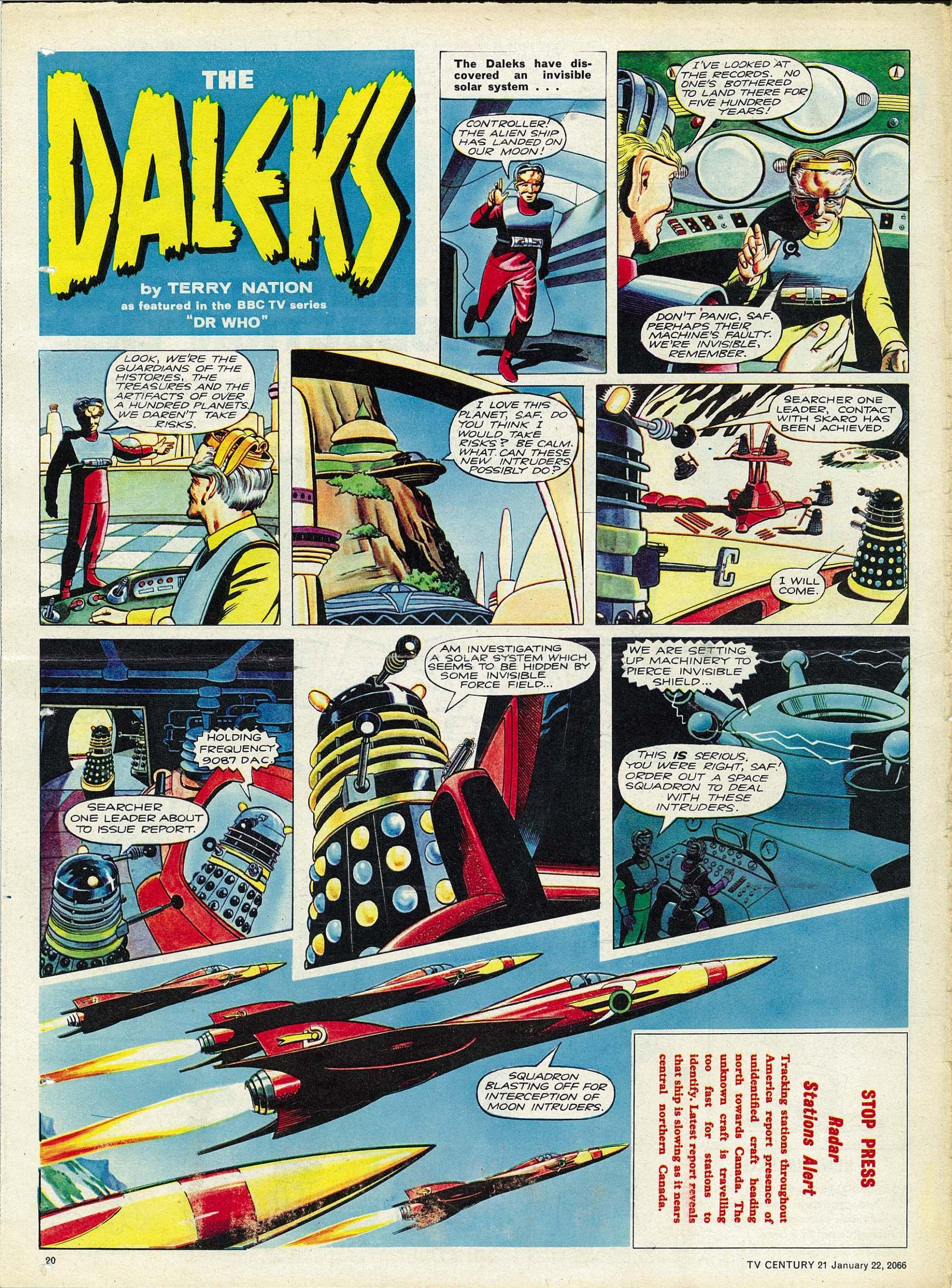 Read online TV Century 21 (TV 21) comic -  Issue #53 - 19