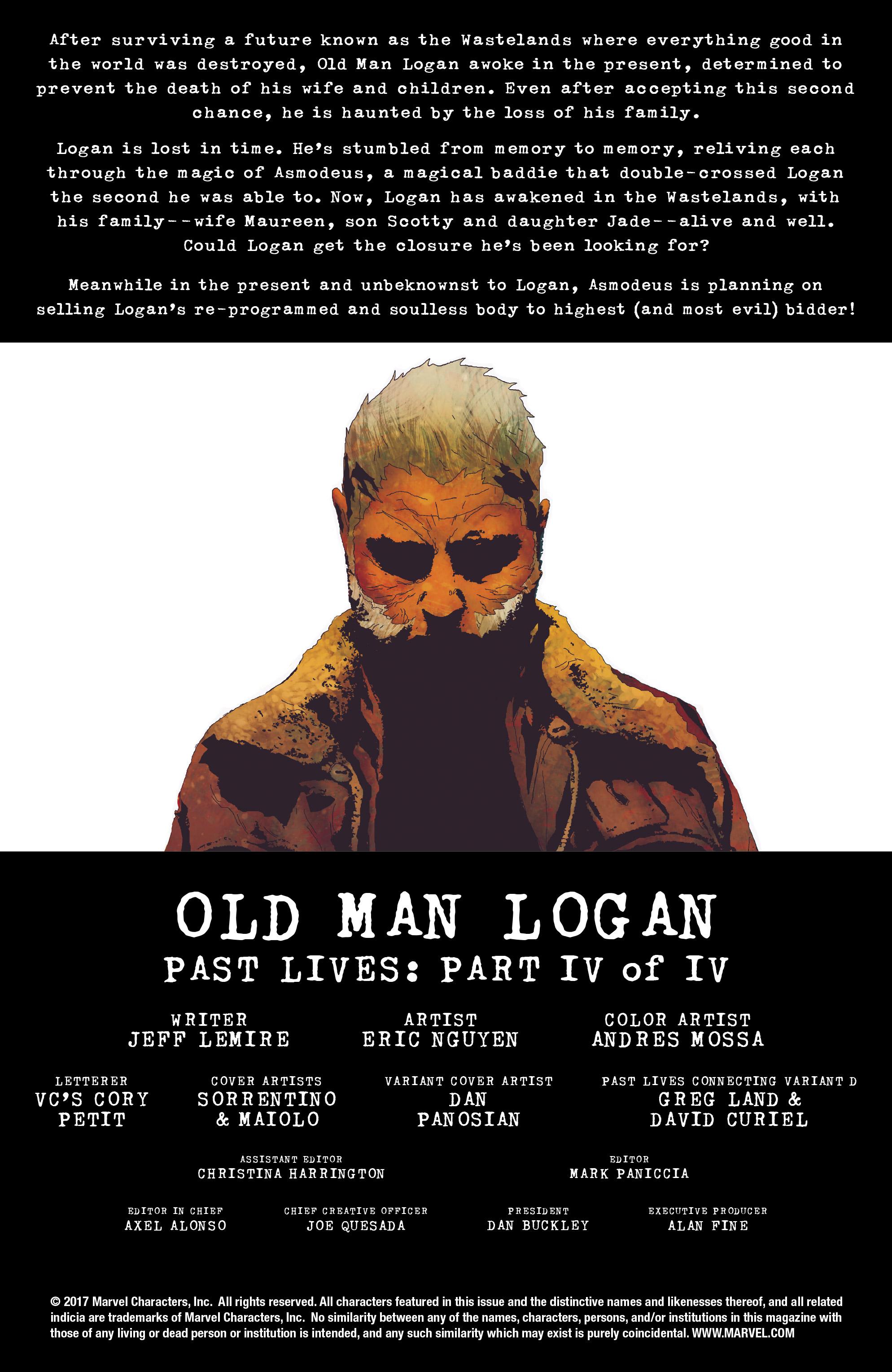 Read online Old Man Logan (2016) comic -  Issue #24 - 2