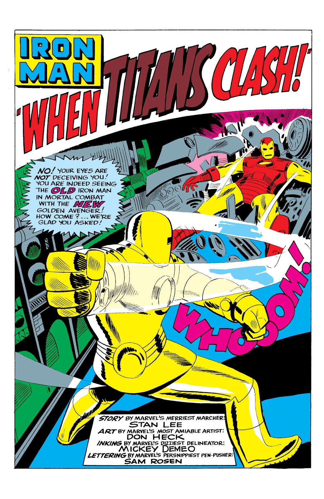 Read online Marvel Masterworks: The Invincible Iron Man comic -  Issue # TPB 2 (Part 3) - 29