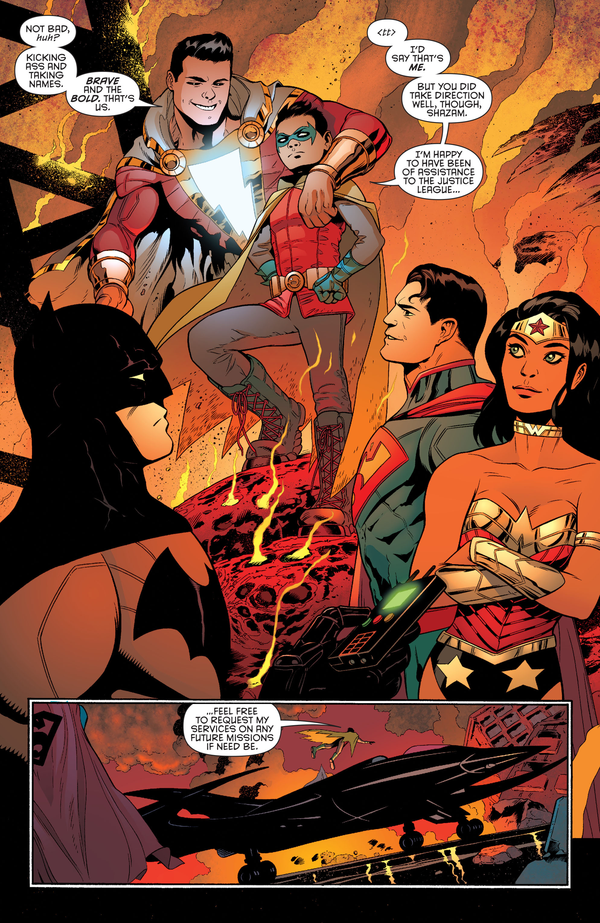 Read online Batman and Robin (2011) comic -  Issue #40 - 6