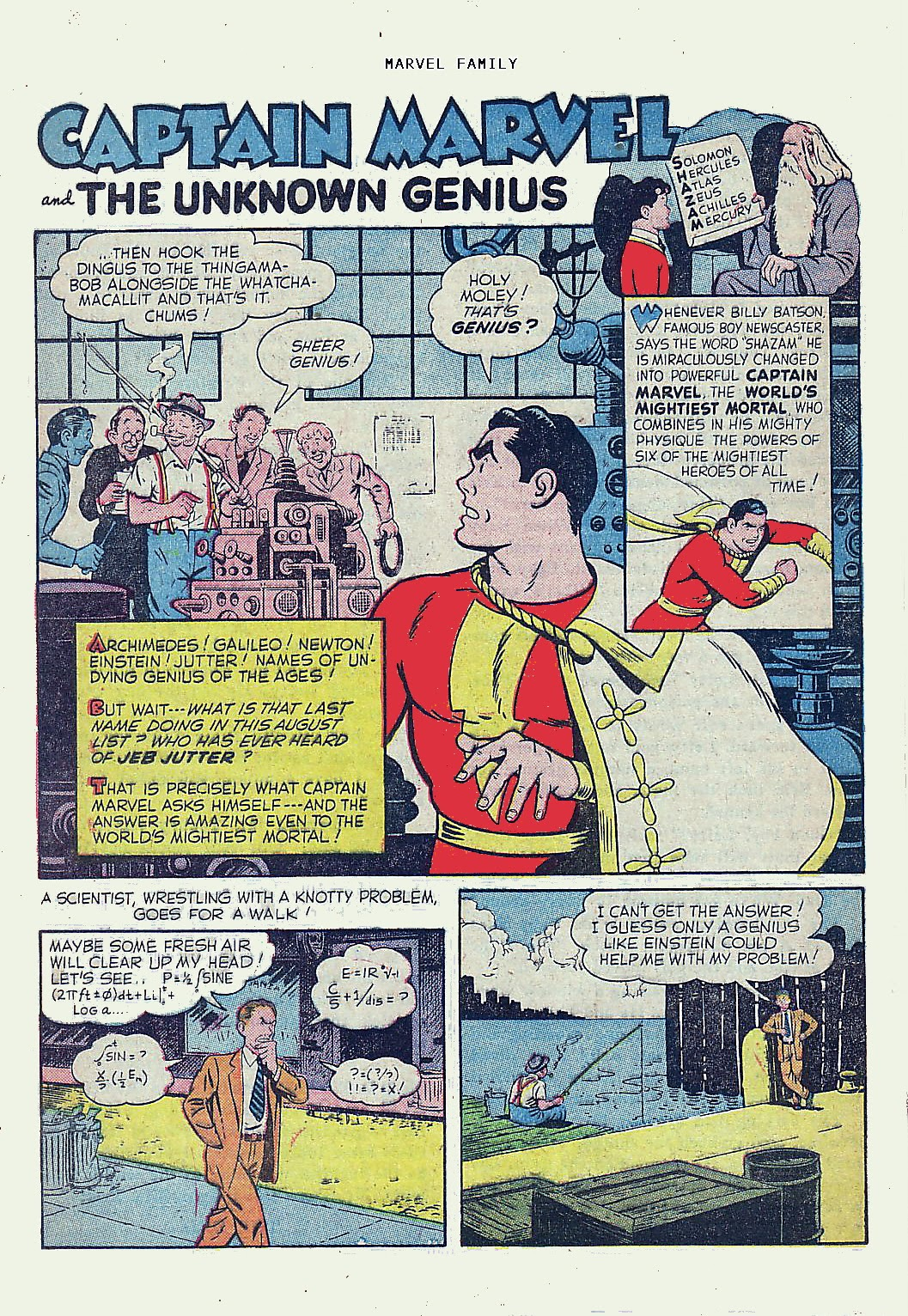 The Marvel Family issue 61 - Page 24