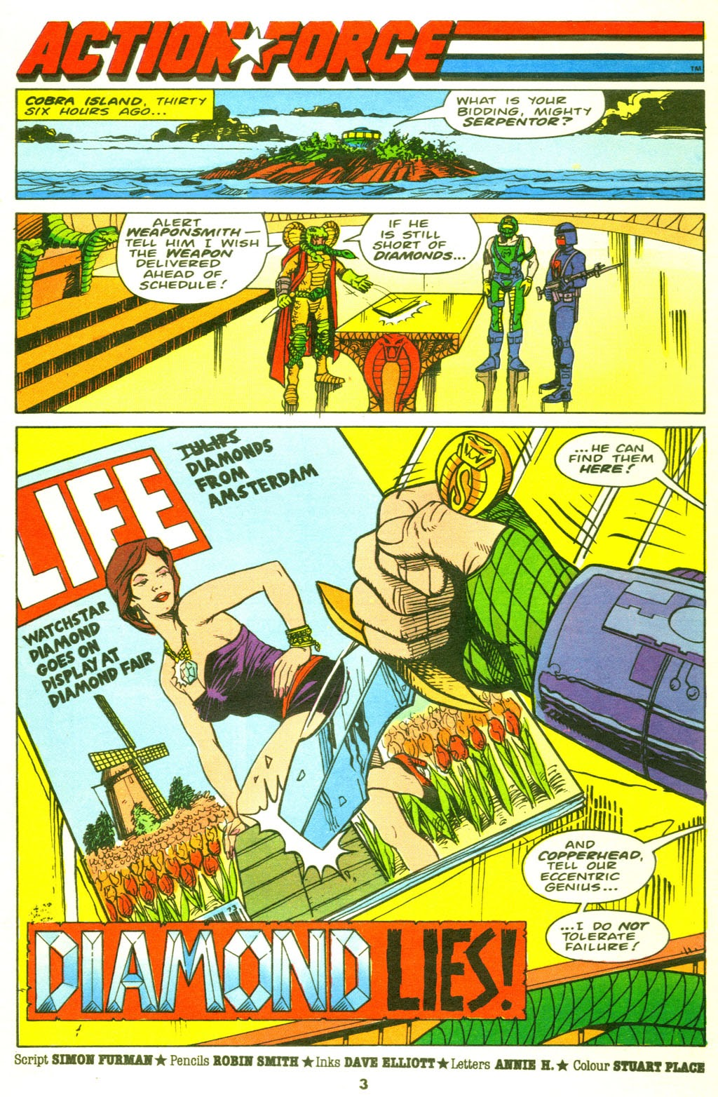 G.I. Joe European Missions issue 9 - Page 4
