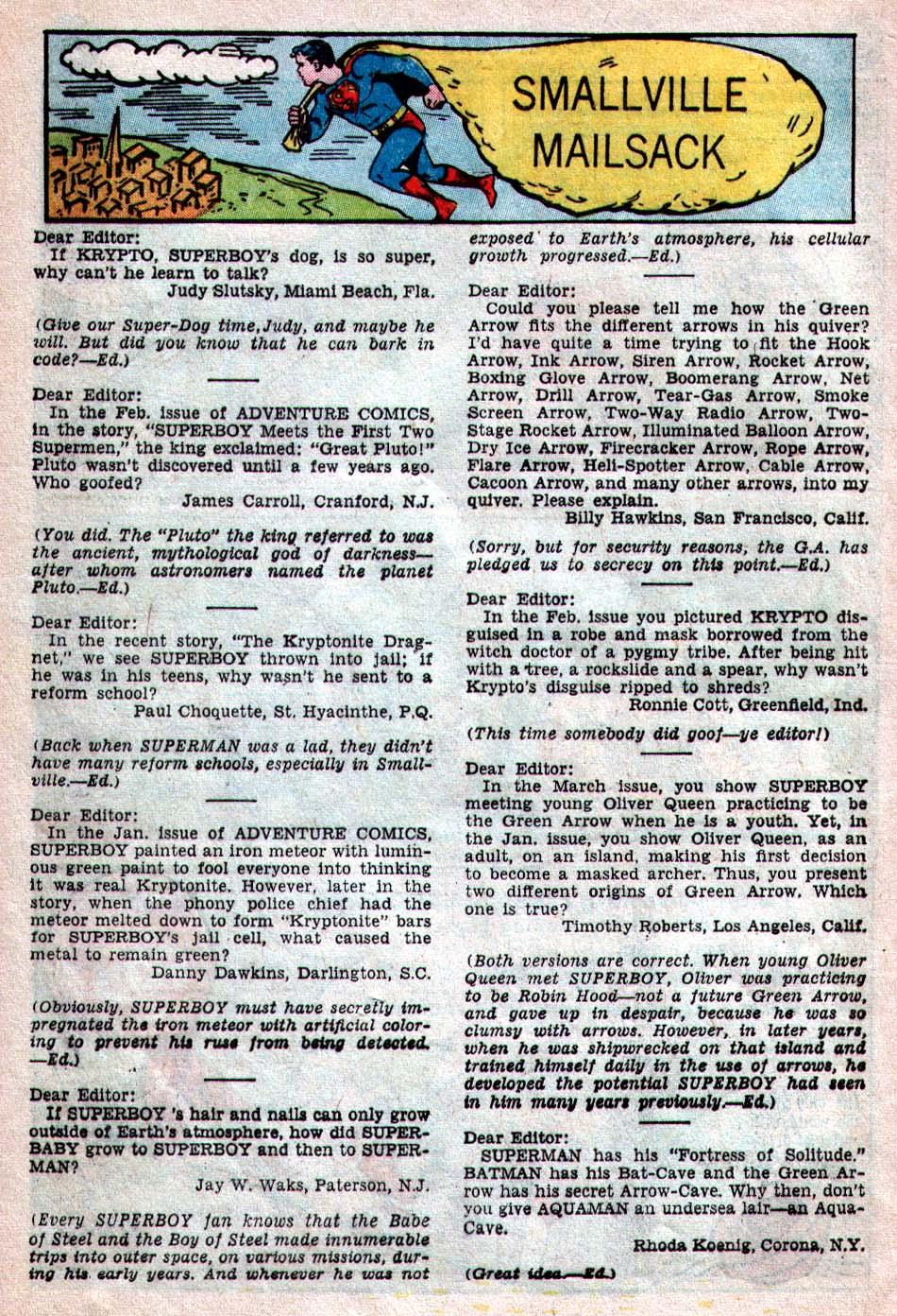 Read online Adventure Comics (1938) comic -  Issue #260 - 24