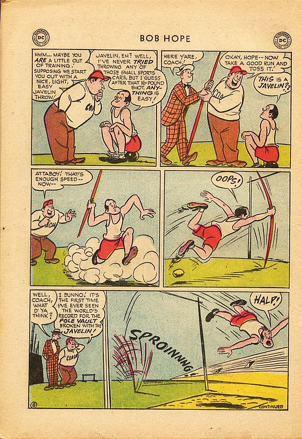 The Adventures of Bob Hope issue 42 - Page 20