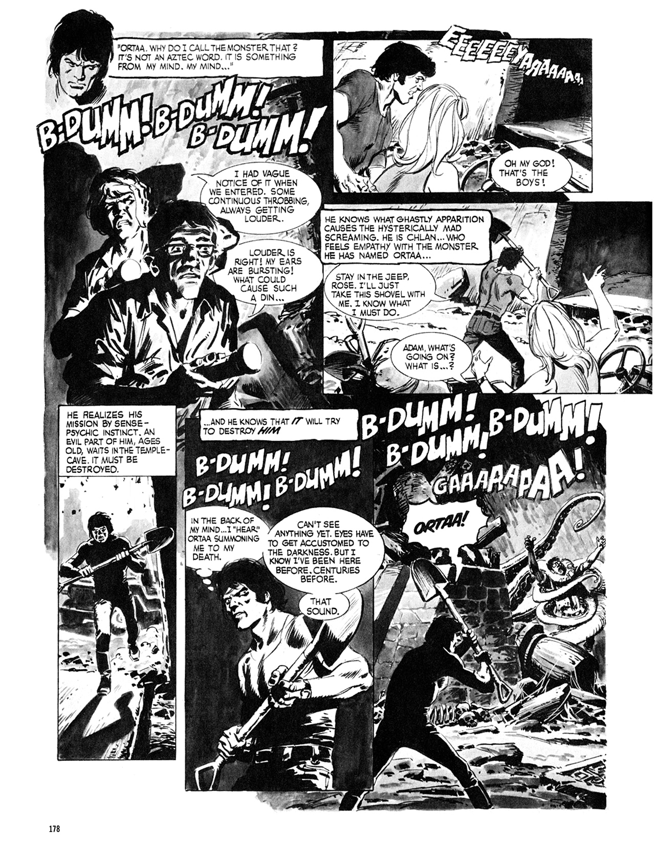 Read online Eerie Archives comic -  Issue # TPB 8 - 179