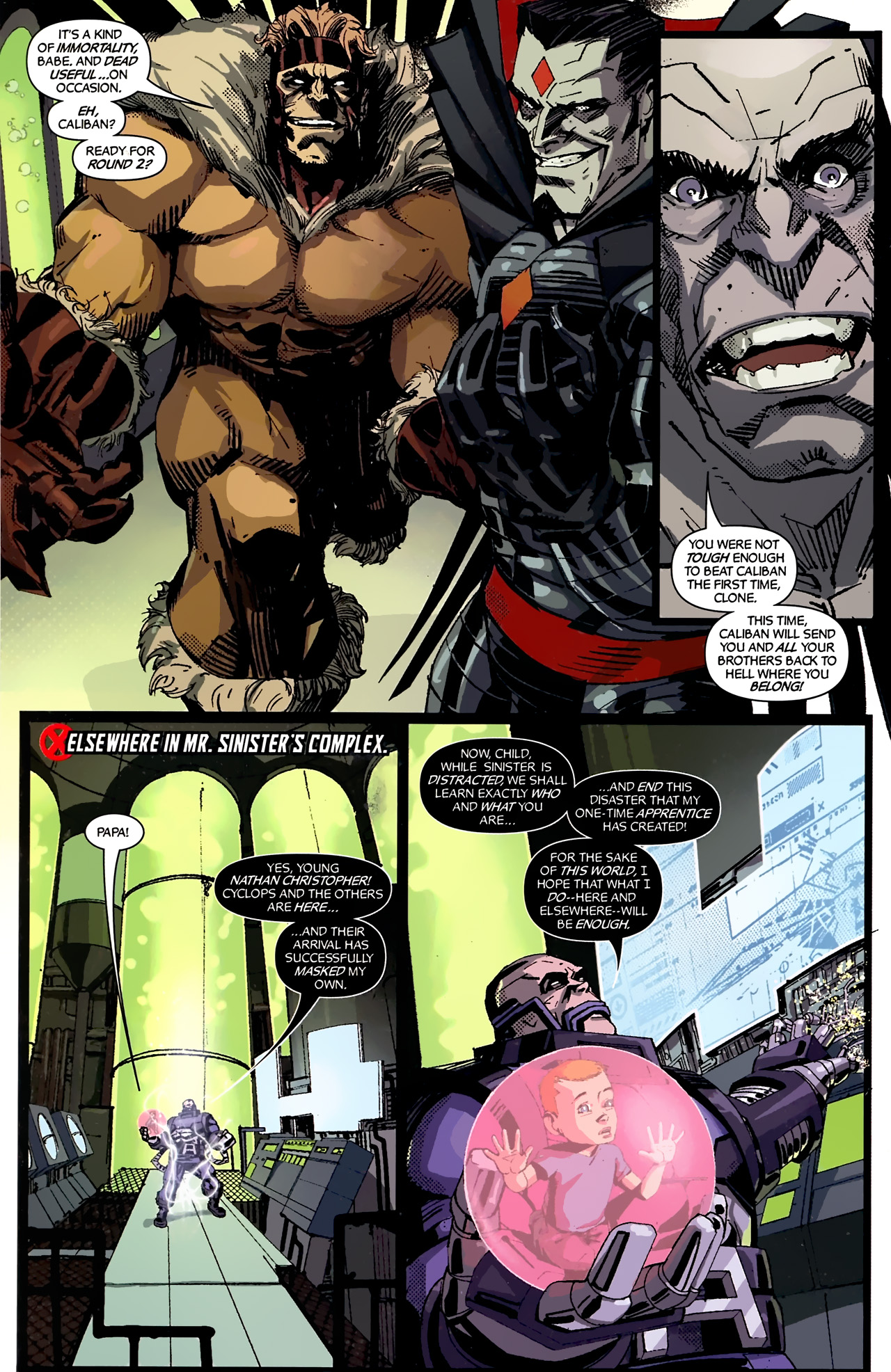 Read online X-Factor Forever comic -  Issue #4 - 13