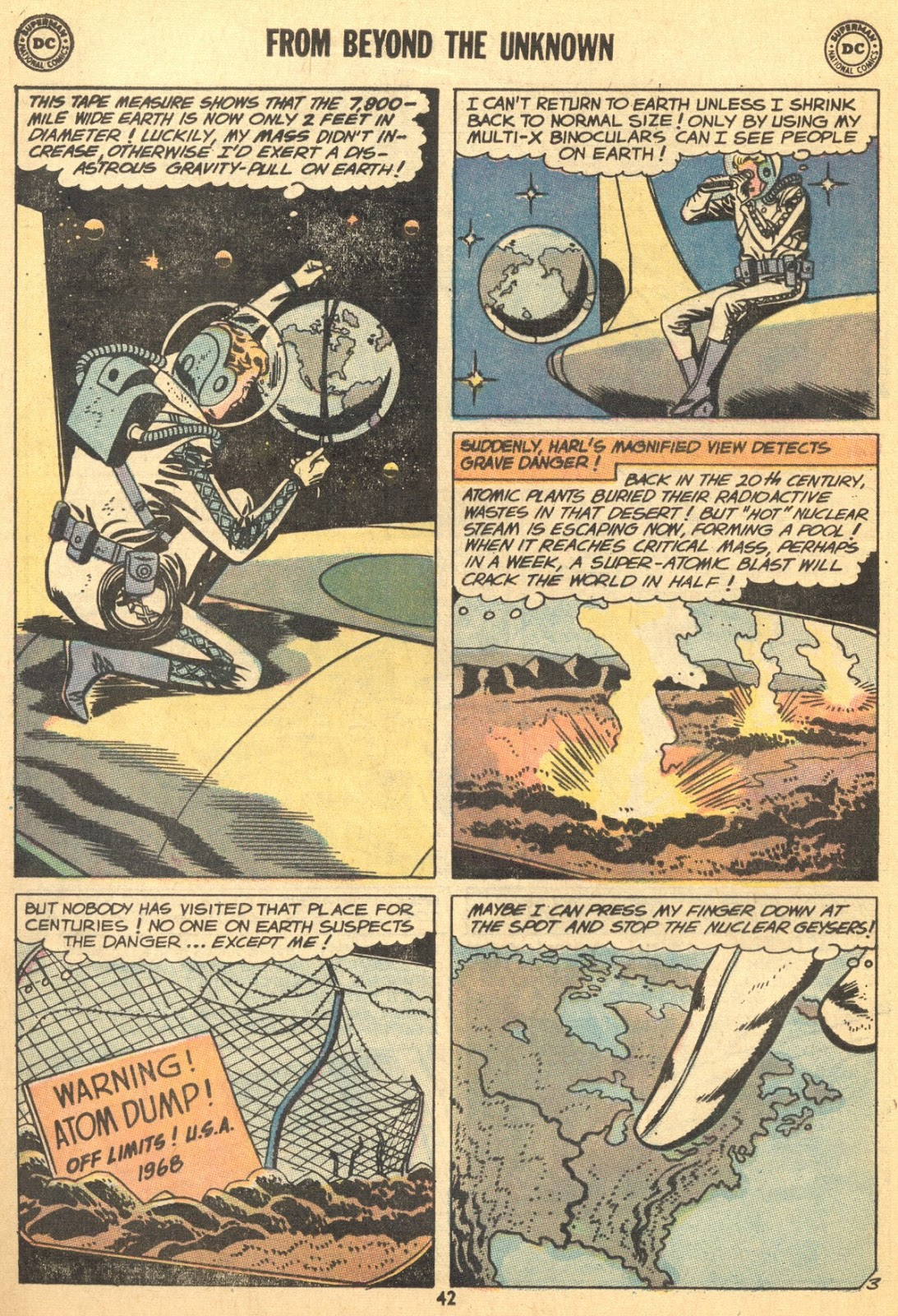 From Beyond the Unknown (1969) issue 9 - Page 44