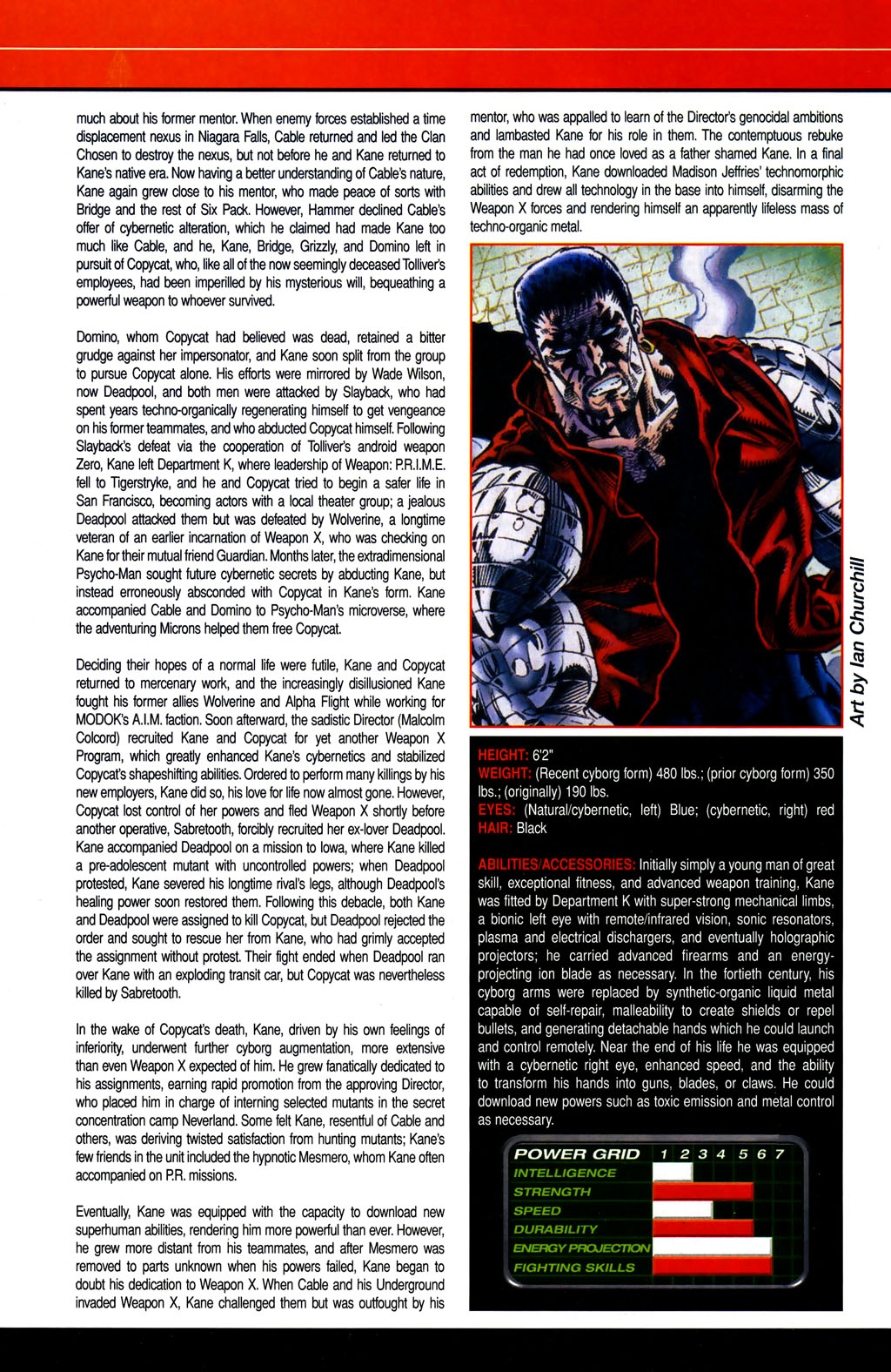 Read online All-New Official Handbook of the Marvel Universe A to Z comic -  Issue #6 - 6