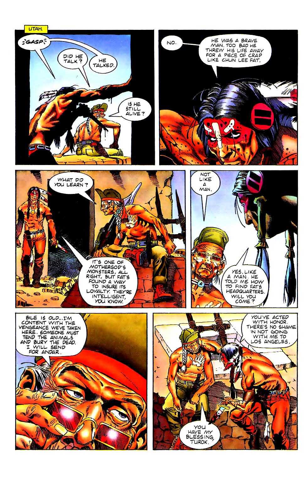 Read online Turok, Dinosaur Hunter (1993) comic -  Issue #11 - 7