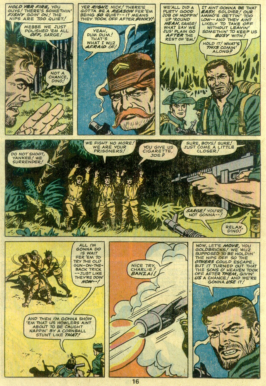 Read online Sgt. Fury comic -  Issue #125 - 18