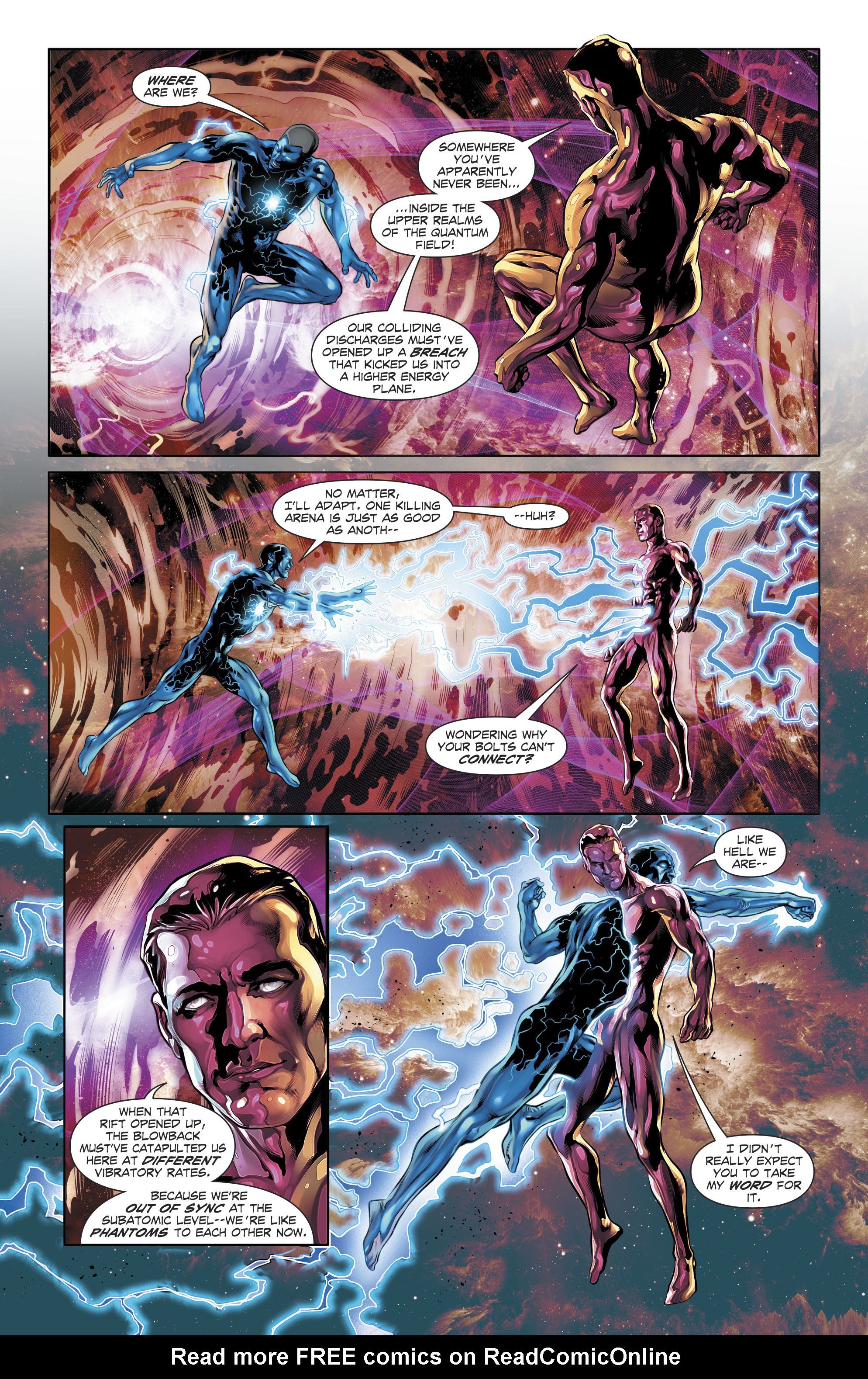Read online The Fall and Rise of Captain Atom comic -  Issue #5 - 19