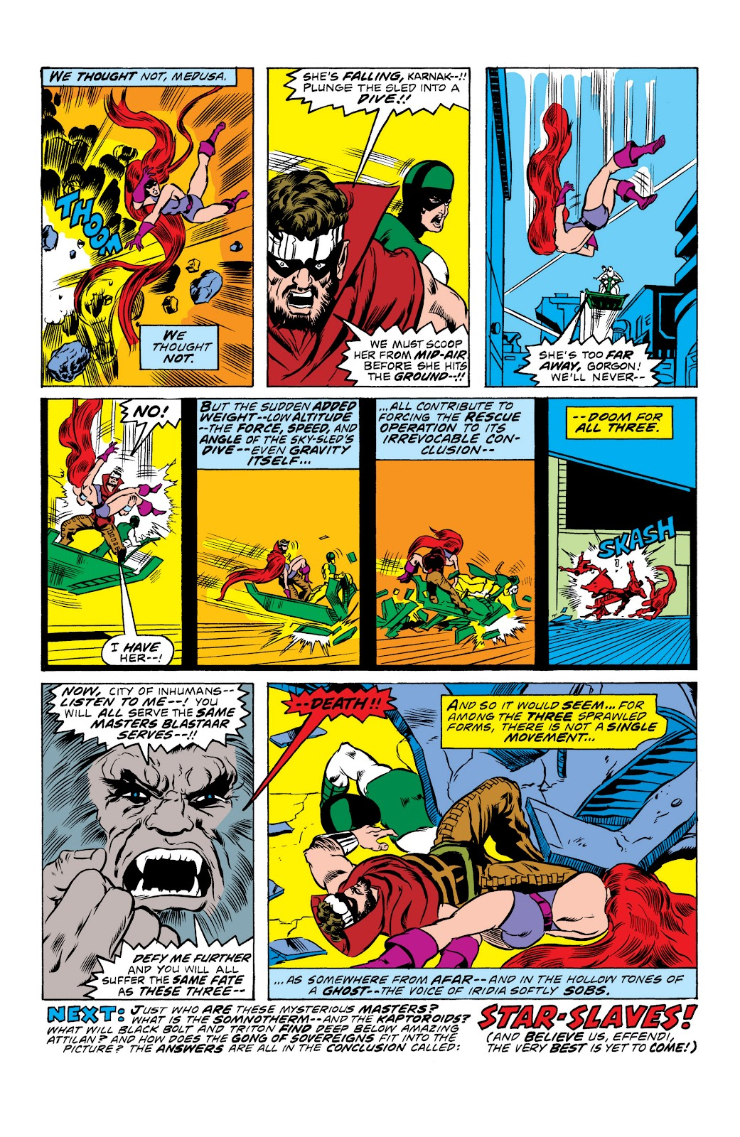 Read online Marvel Masterworks: The Inhumans comic -  Issue # TPB 2 (Part 1) - 25
