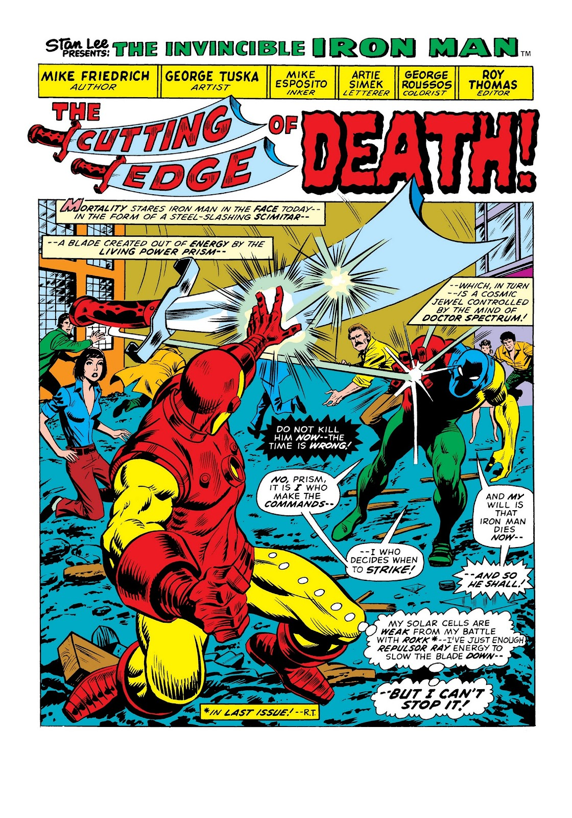 Read online Marvel Masterworks: The Invincible Iron Man comic -  Issue # TPB 9 (Part 3) - 34