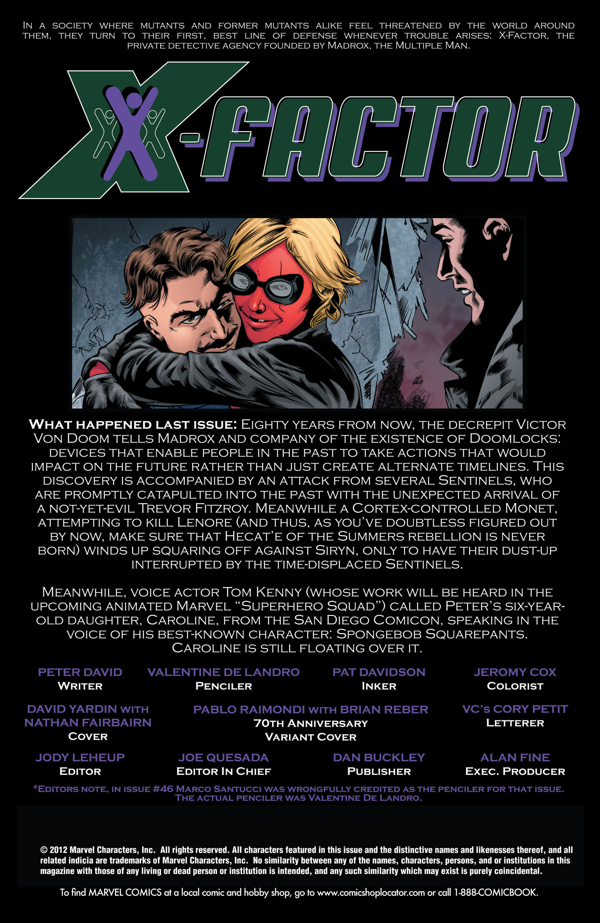Read online X-Factor (2006) comic -  Issue #47 - 2