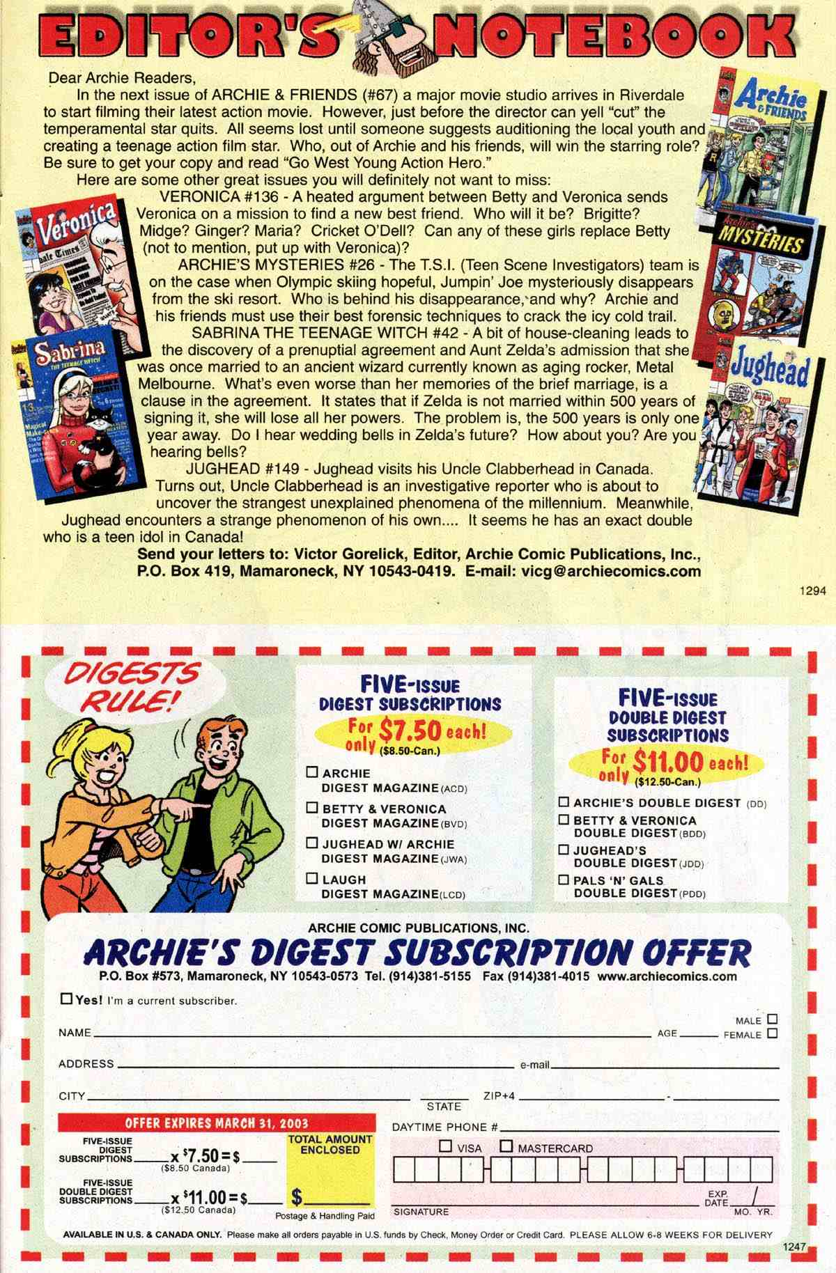 Read online Archie's Girls Betty and Veronica comic -  Issue #183 - 15