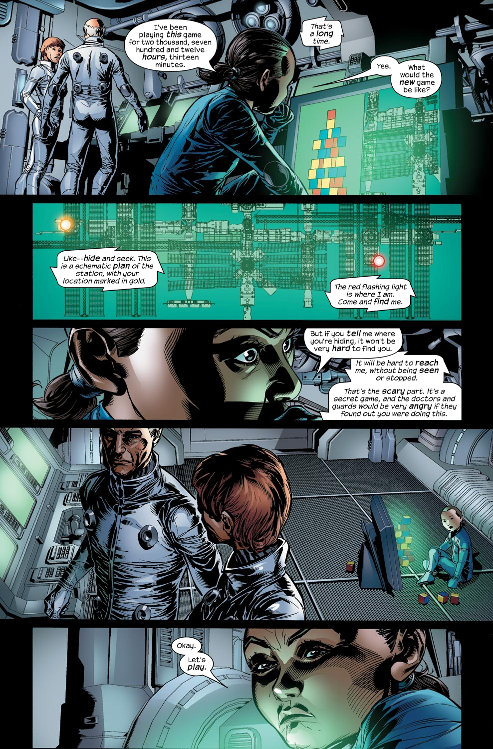 Read online Ultimate Vision comic -  Issue #2 - 16