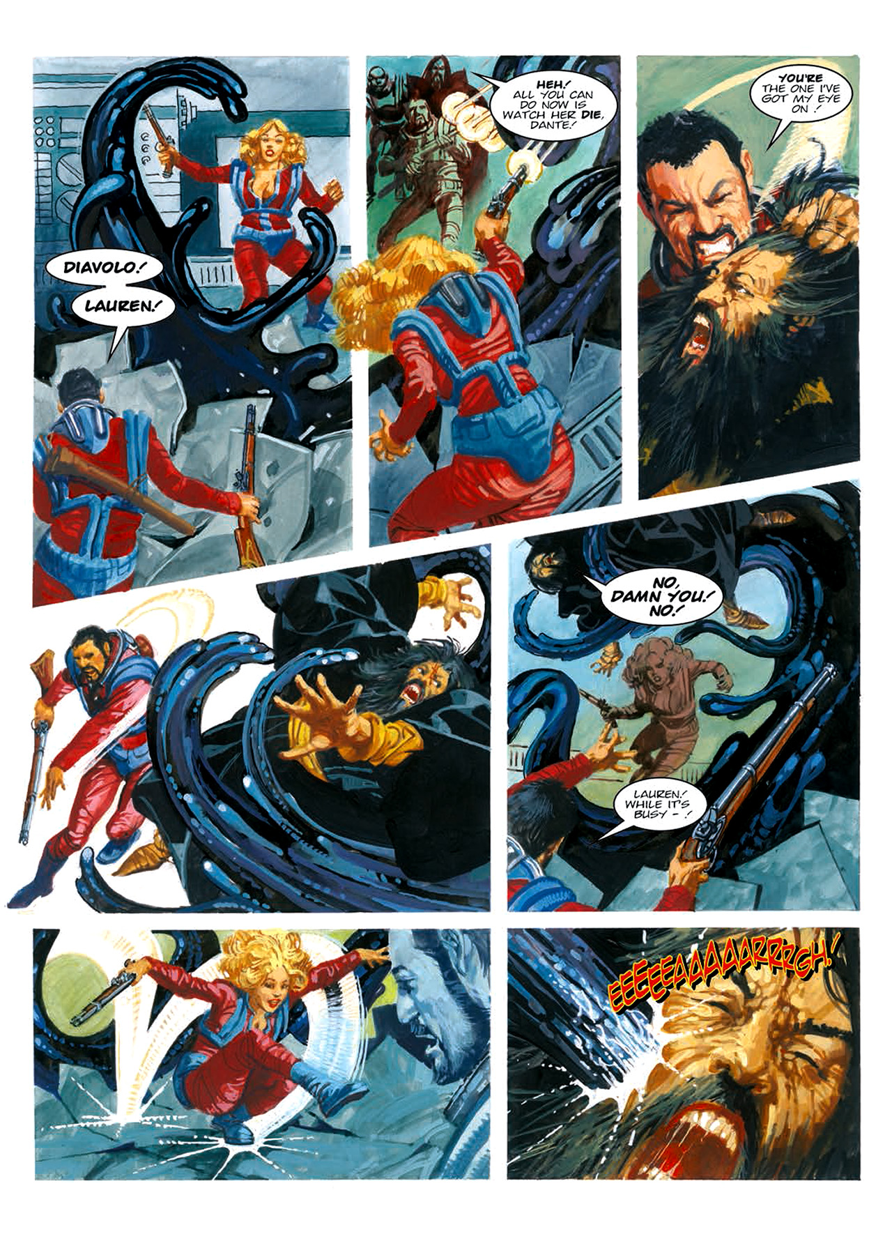 Read online Nikolai Dante comic -  Issue # TPB 6 - 190