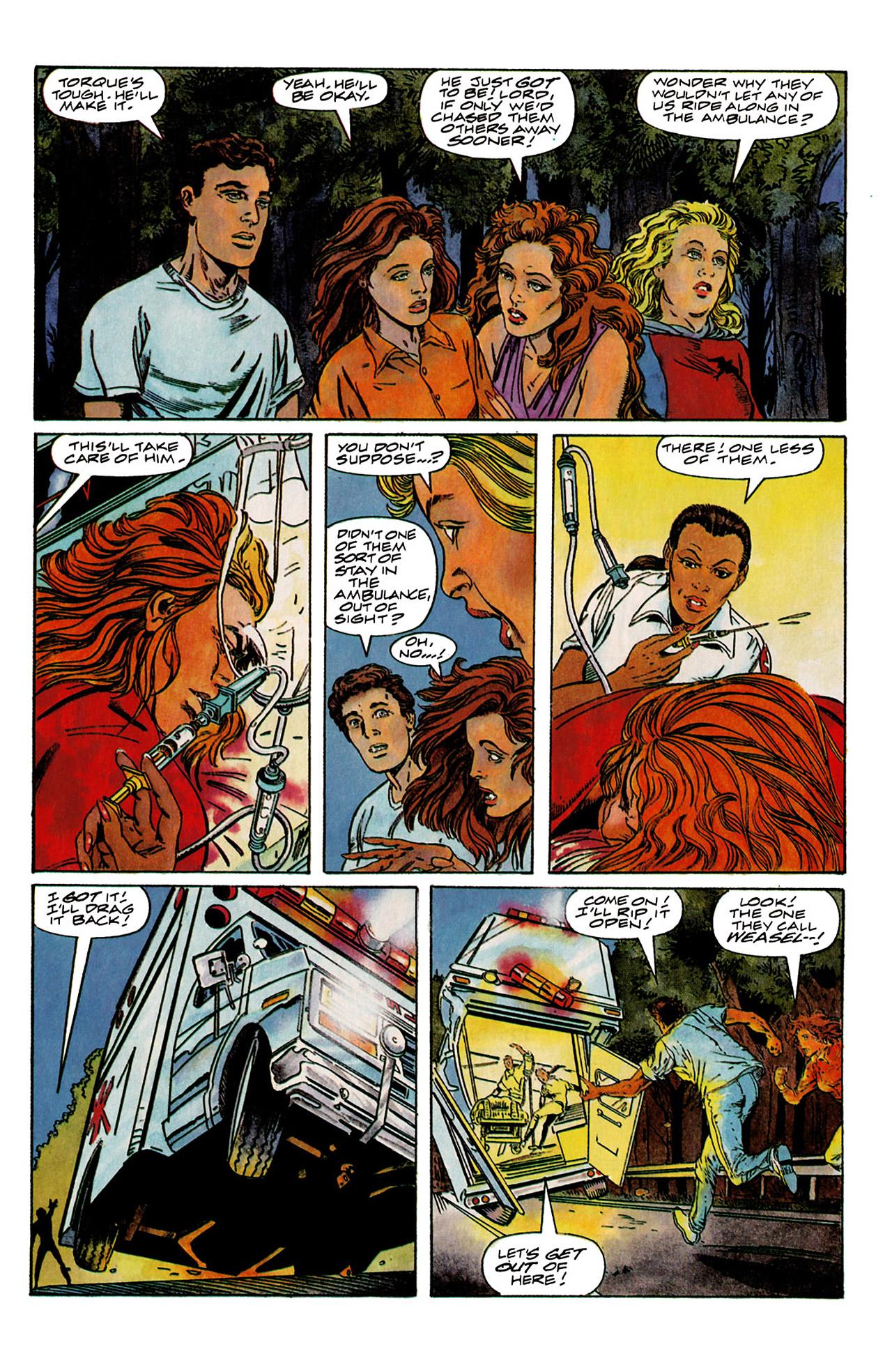 Read online Harbinger (1992) comic -  Issue #6 - 21