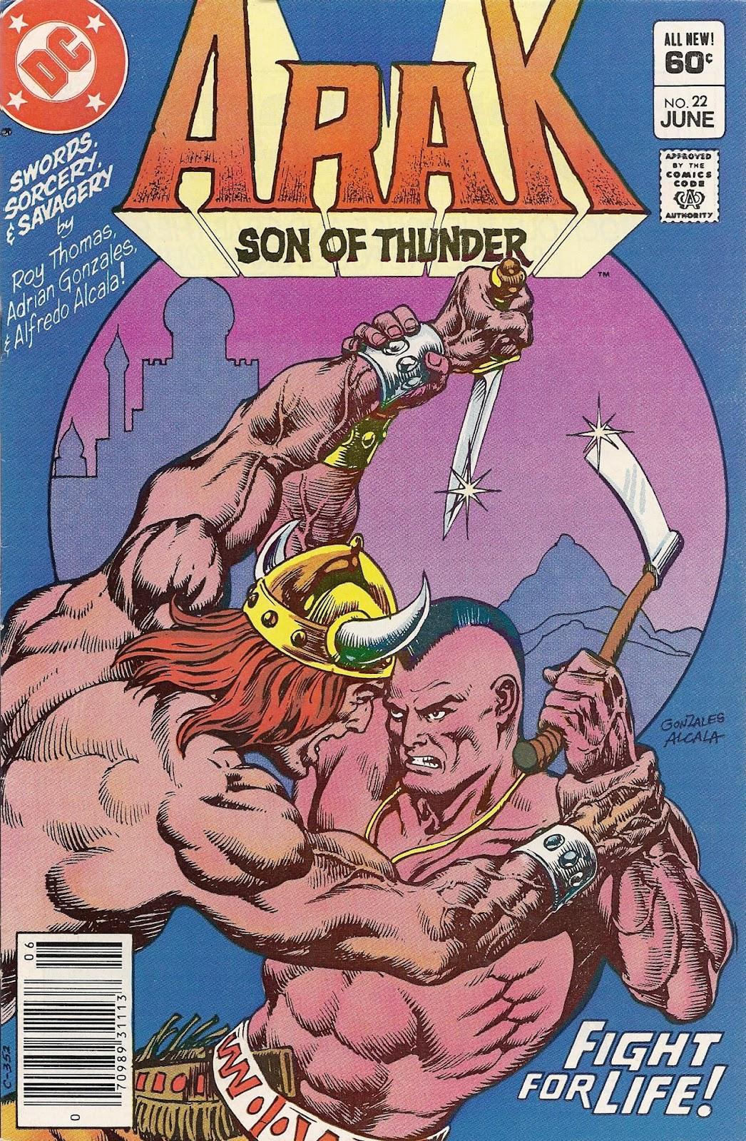 Arak Son of Thunder 22 Page 1