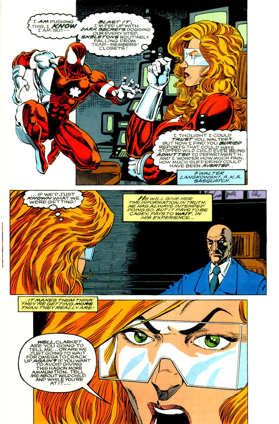 Read online Alpha Flight (1983) comic -  Issue #118 - 10