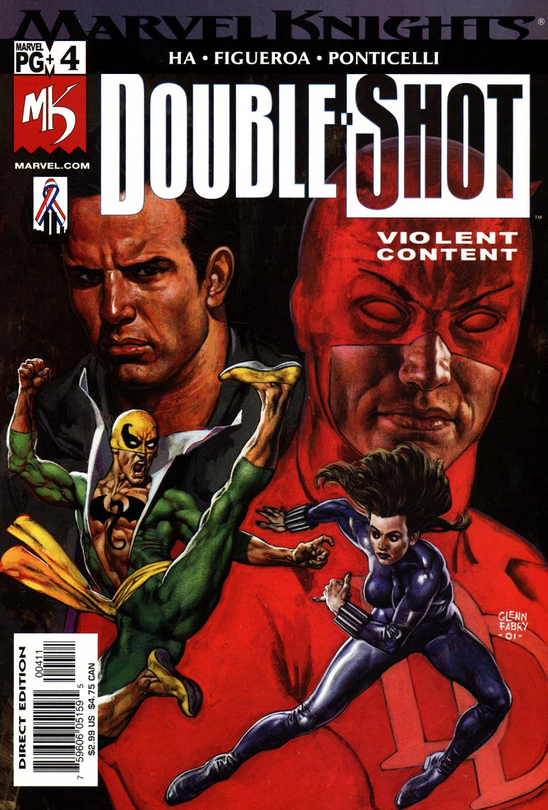Marvel Knights Double Shot 4 Page 1