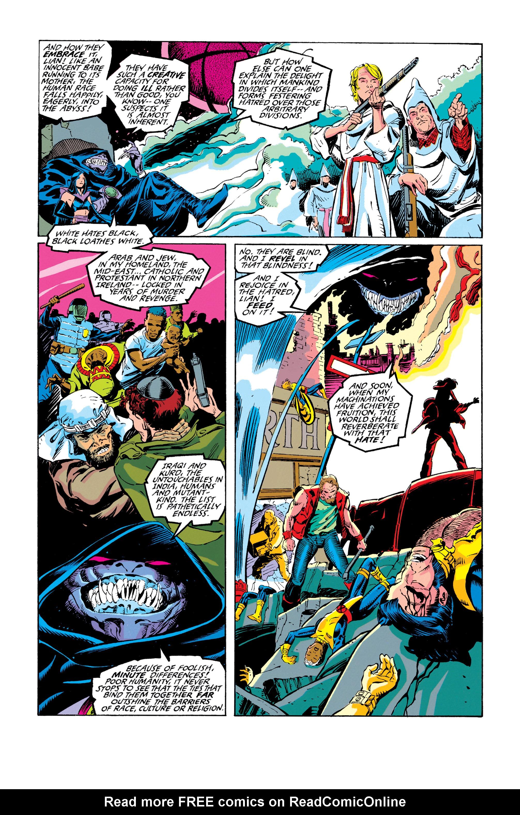Read online Uncanny X-Men (1963) comic -  Issue #278 - 3