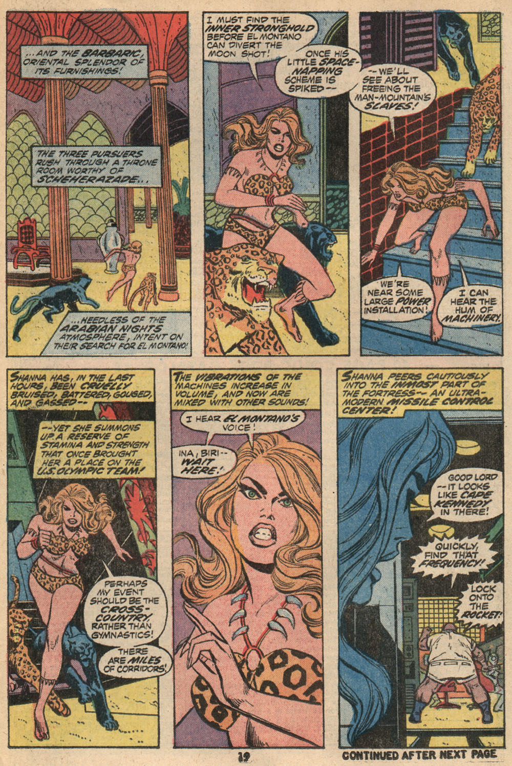 Read online Shanna, the She-Devil (1972) comic -  Issue #2 - 14
