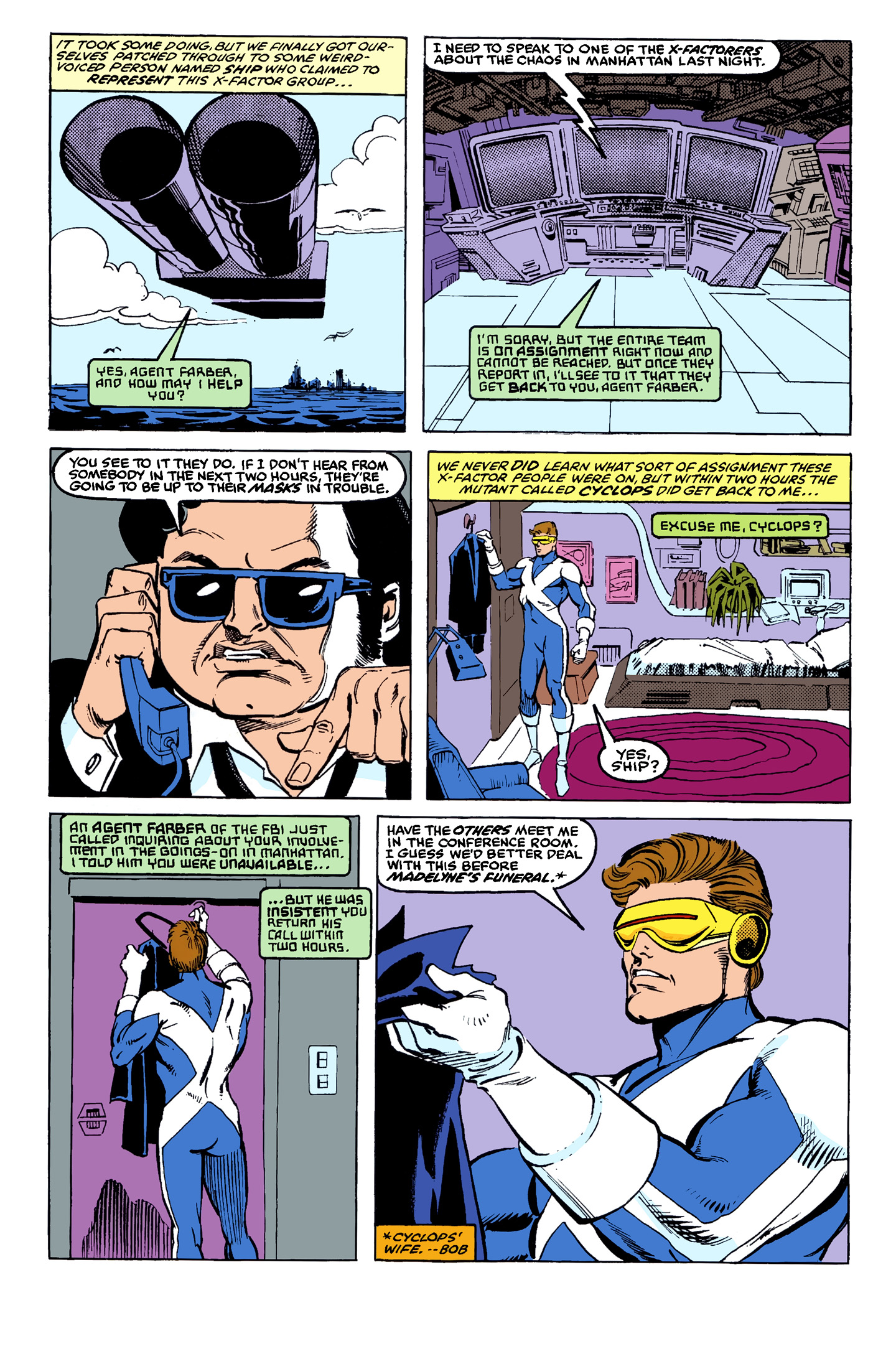 Read online X-Factor (1986) comic -  Issue # _ Annual 4 - 46