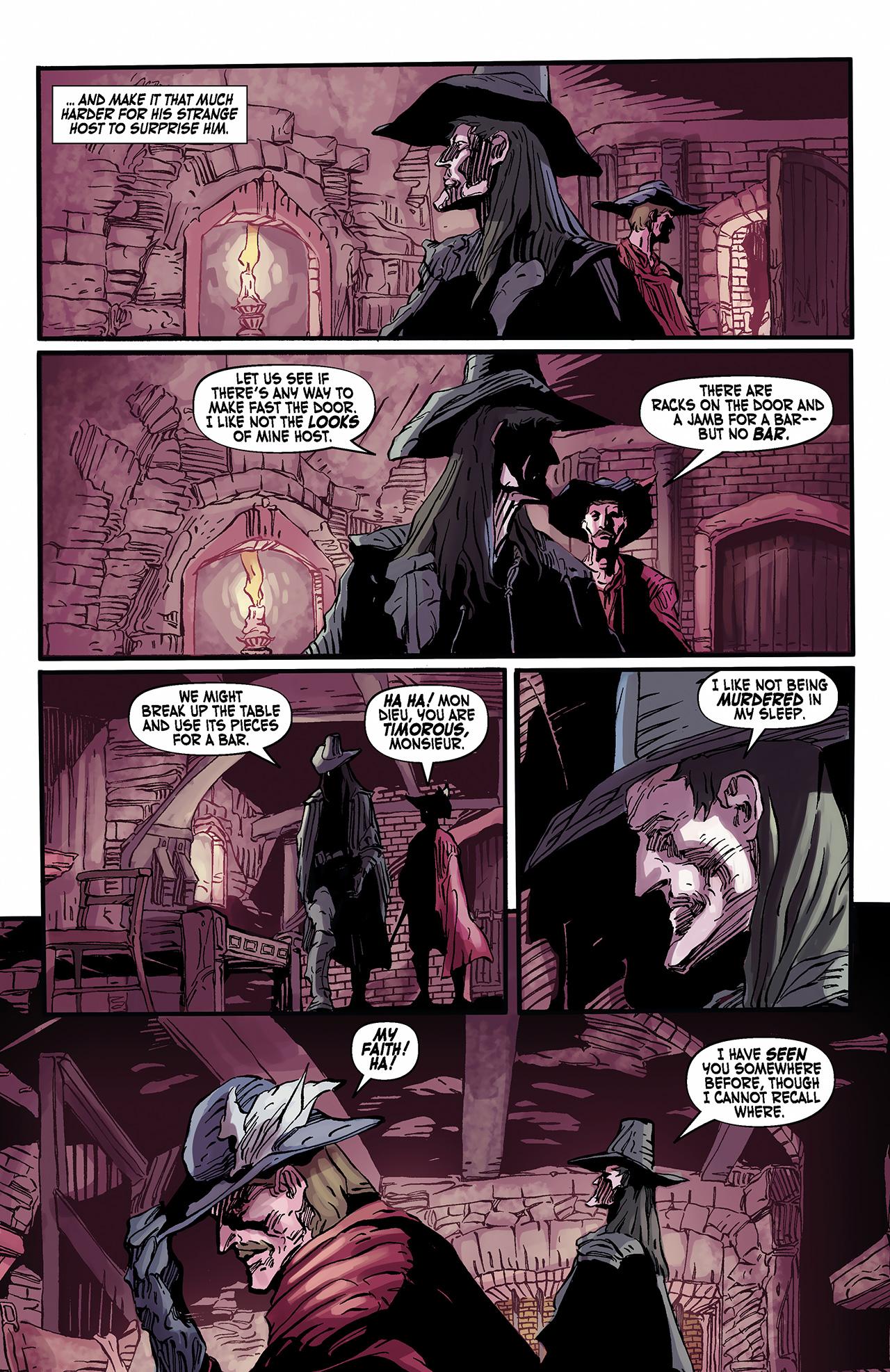 Read online Solomon Kane: Death's Black Riders comic -  Issue #2 - 10