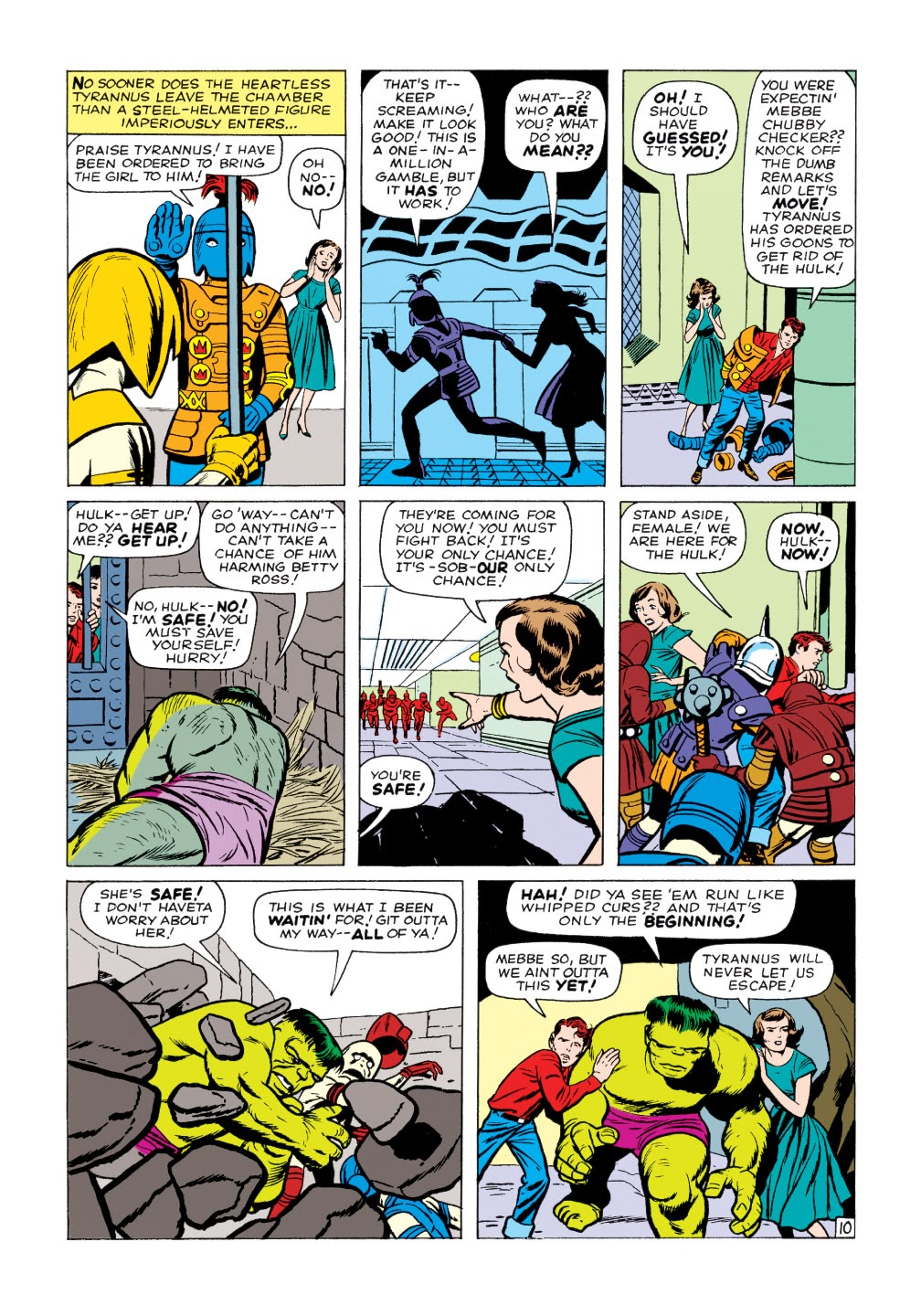 Read online Marvel Masterworks: The Incredible Hulk comic -  Issue # TPB 1 (Part 2) - 14