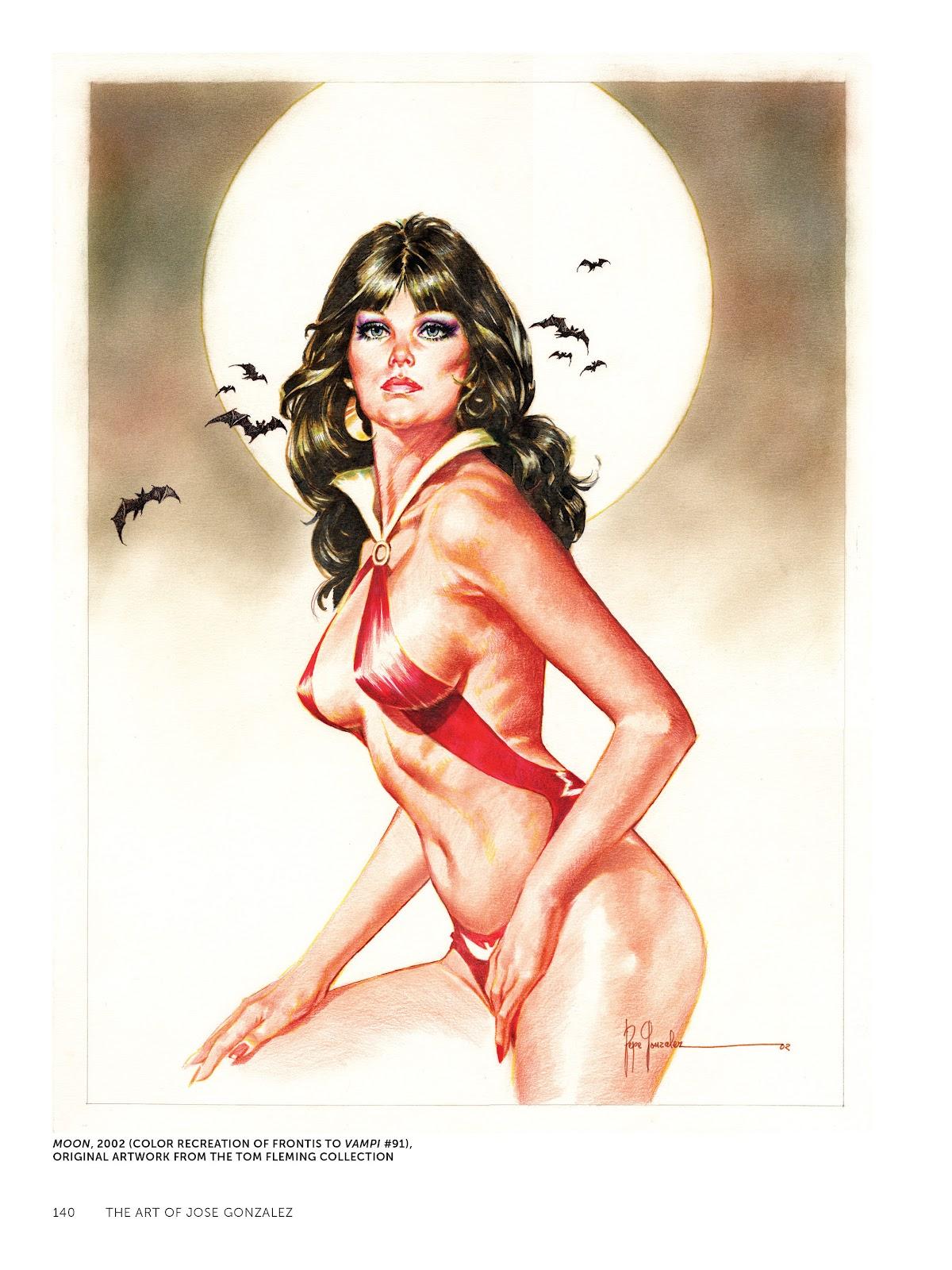 Read online The Art of Jose Gonzalez comic -  Issue # TPB (Part 2) - 42