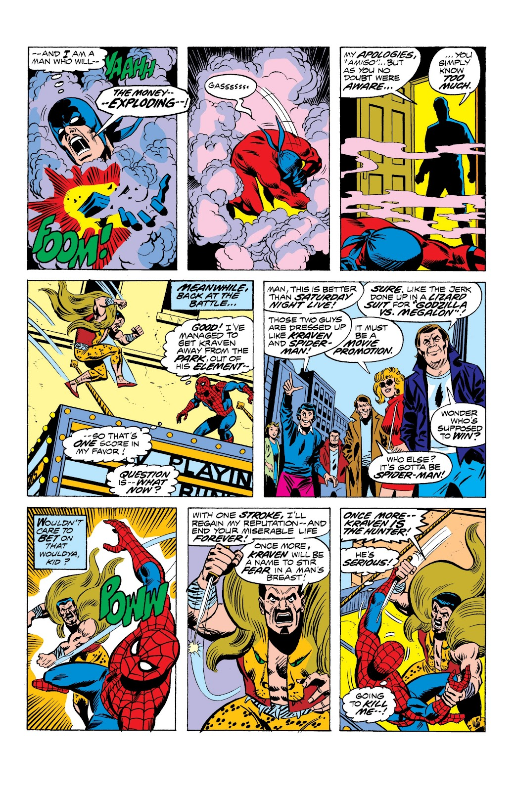 Read online Marvel Masterworks: The Spectacular Spider-Man comic -  Issue # TPB (Part 1) - 41