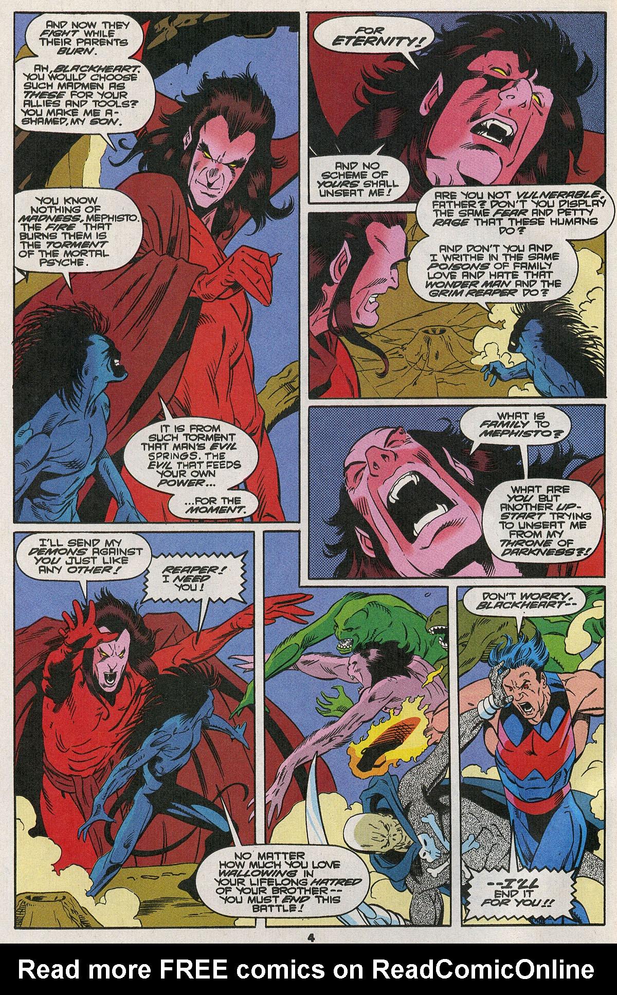 Read online Wonder Man (1991) comic -  Issue #23 - 5
