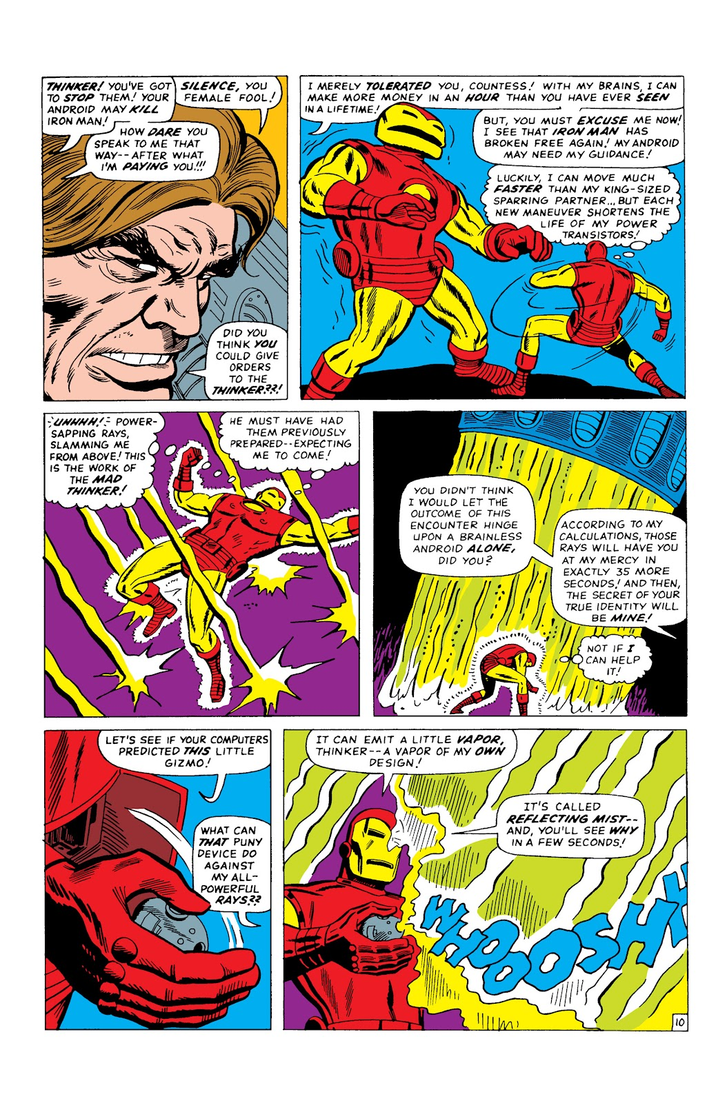 Read online Marvel Masterworks: The Invincible Iron Man comic -  Issue # TPB 3 (Part 2) - 51