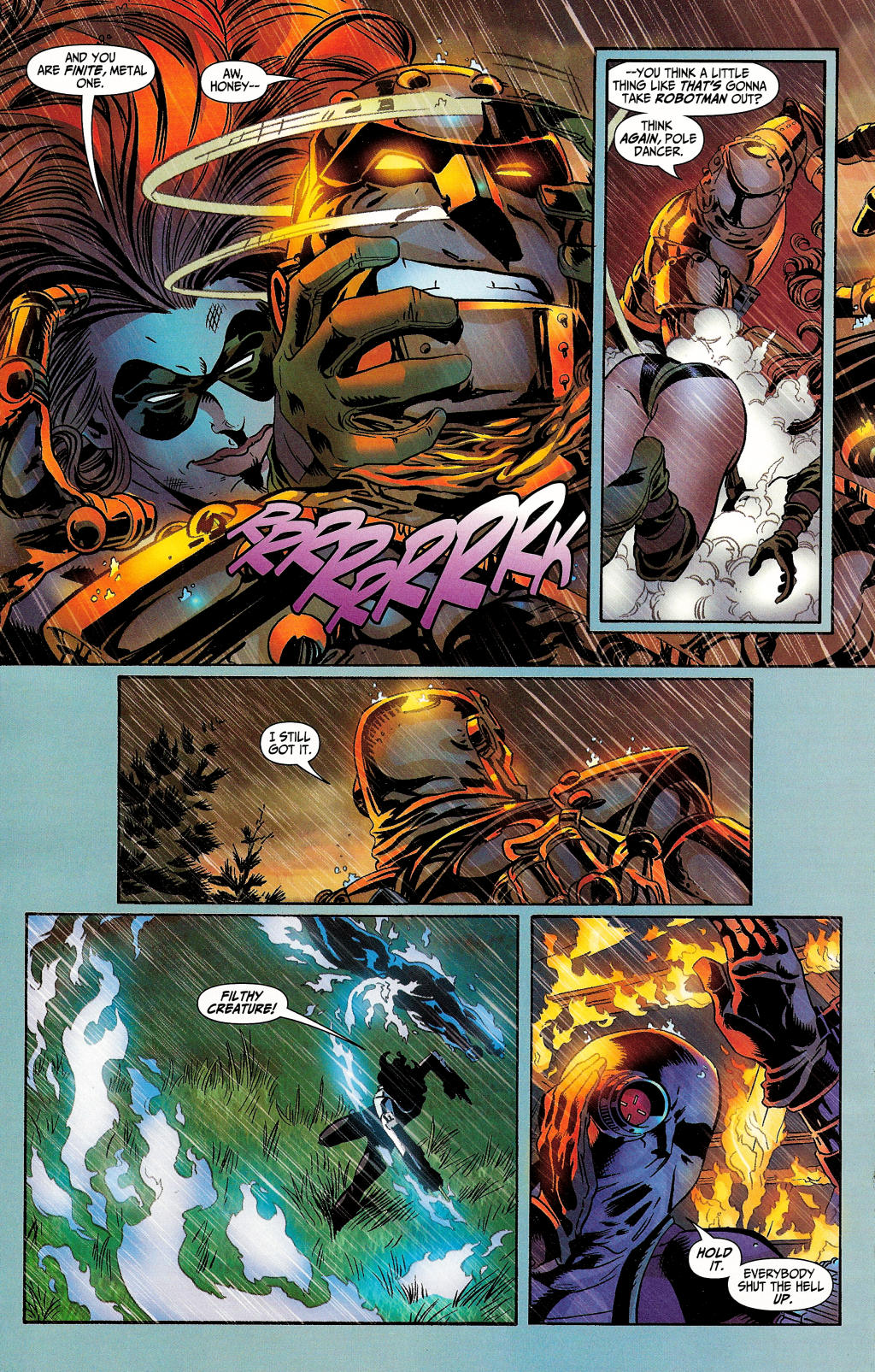 Read online Secret Six (2006) comic -  Issue #4 - 19