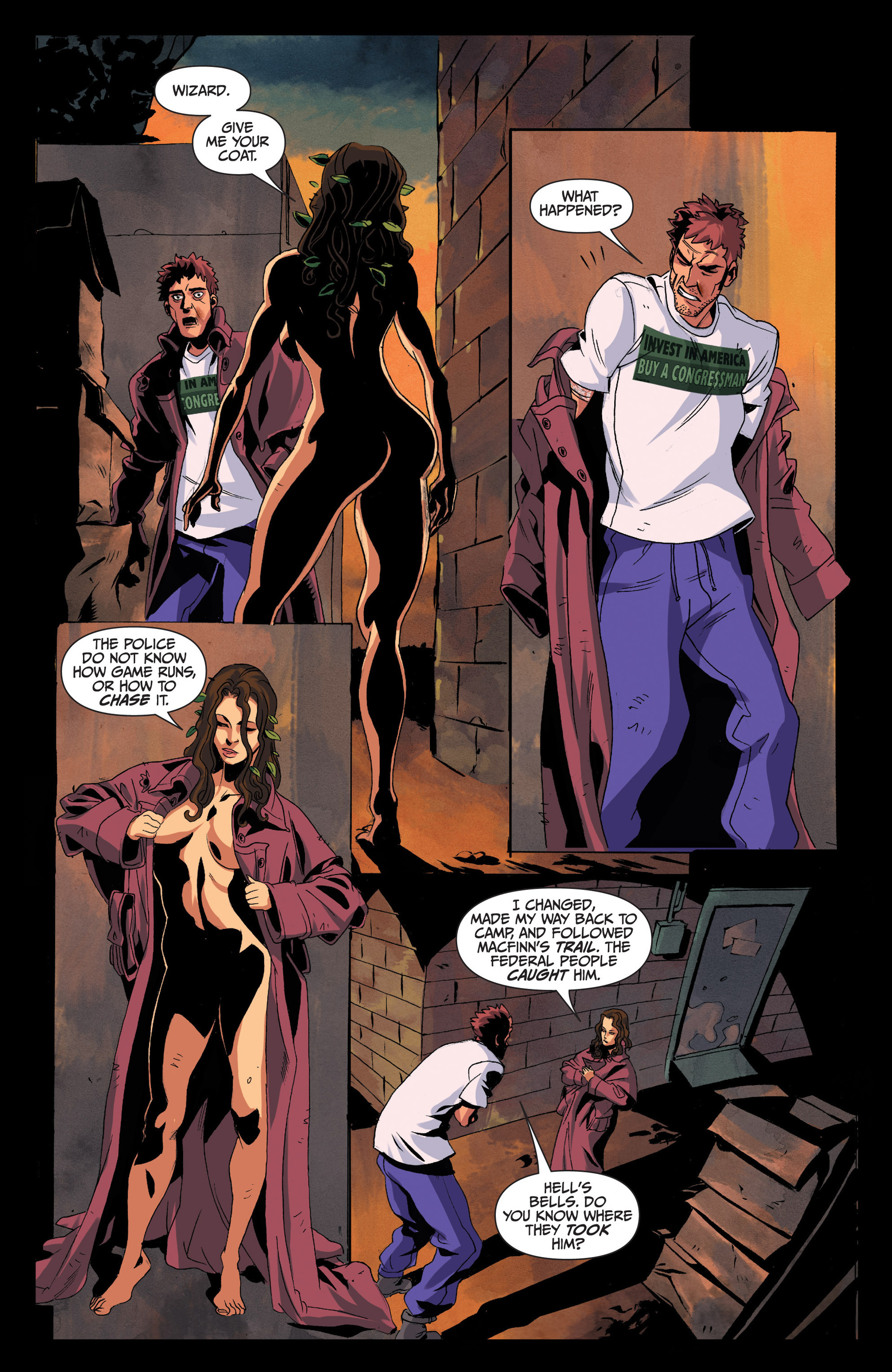 Read online Jim Butcher's The Dresden Files: Fool Moon comic -  Issue #4 - 23