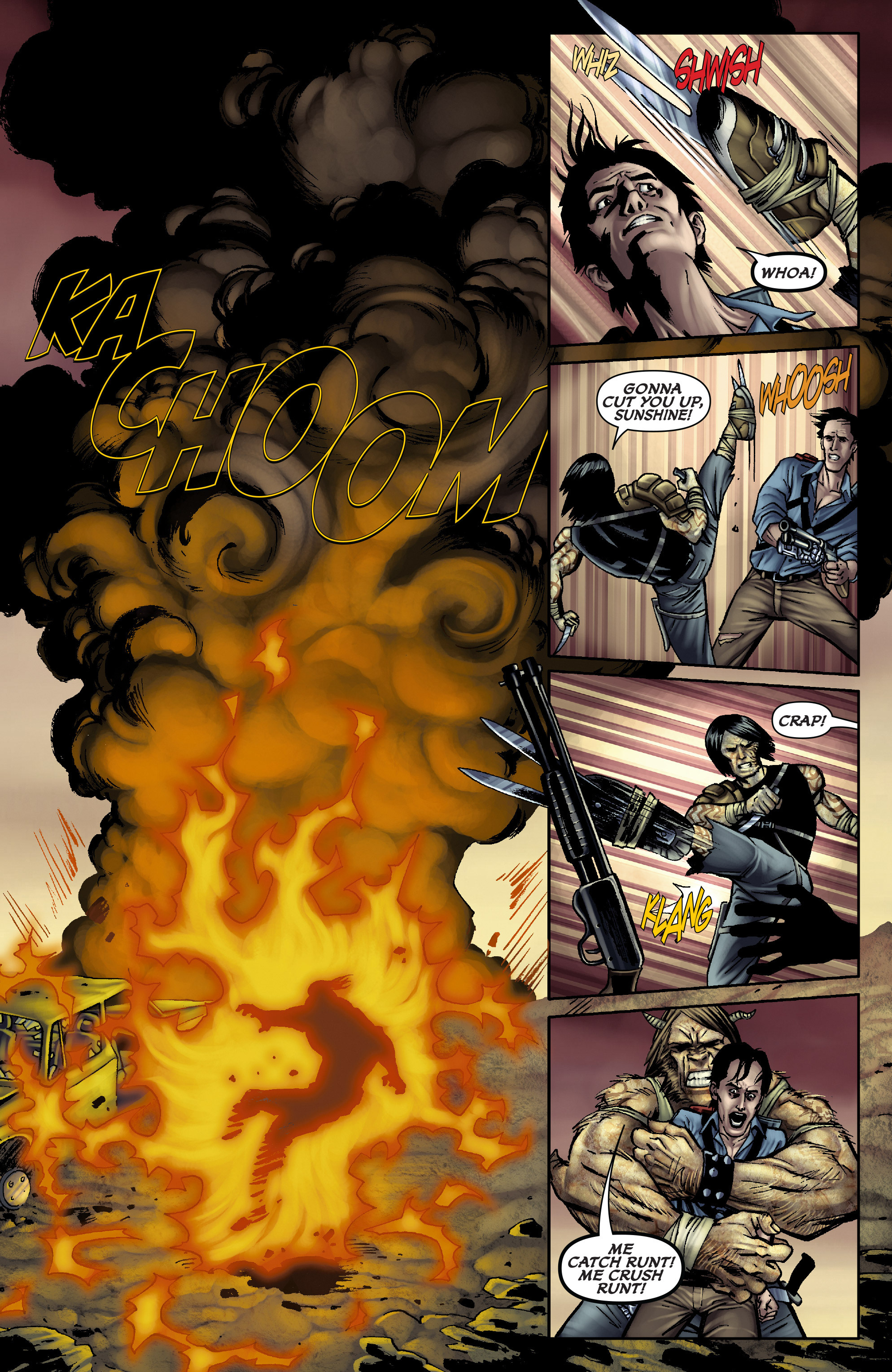 Read online Army of Darkness: From the Ashes comic -  Issue #Army of Darkness: From the Ashes TPB - 16