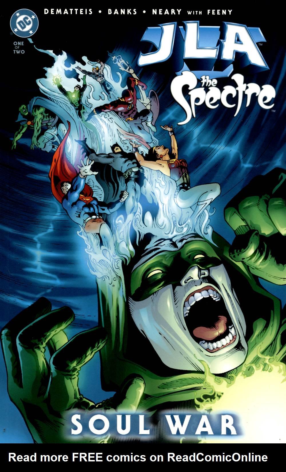 JLA/Spectre: Soul War  issue 1 - Page 1