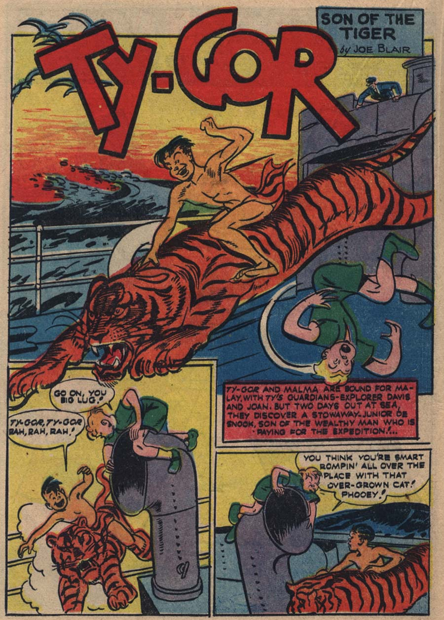 Blue Ribbon Comics (1939) issue 18 - Page 37