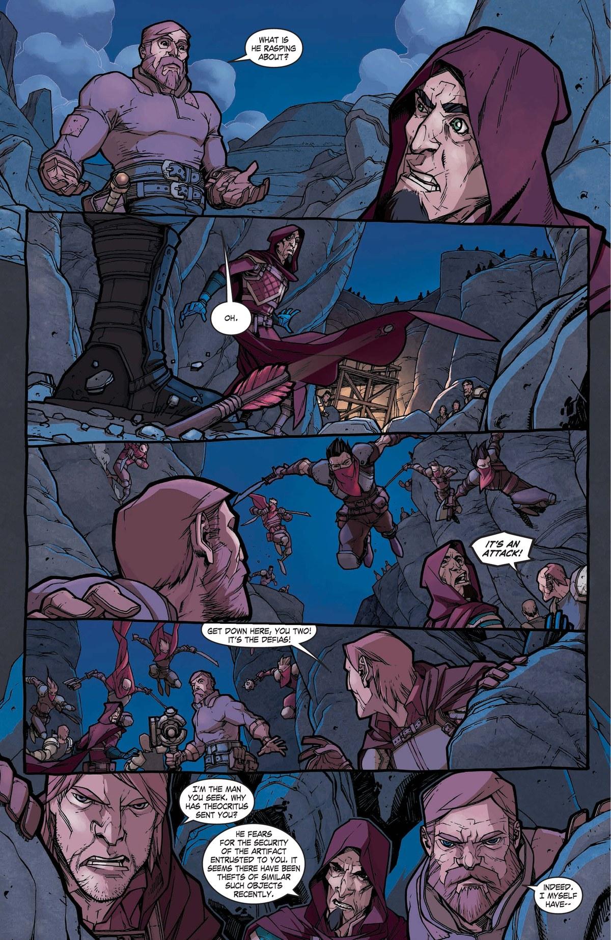 Read online World of Warcraft: Dark Riders comic -  Issue # Full - 30