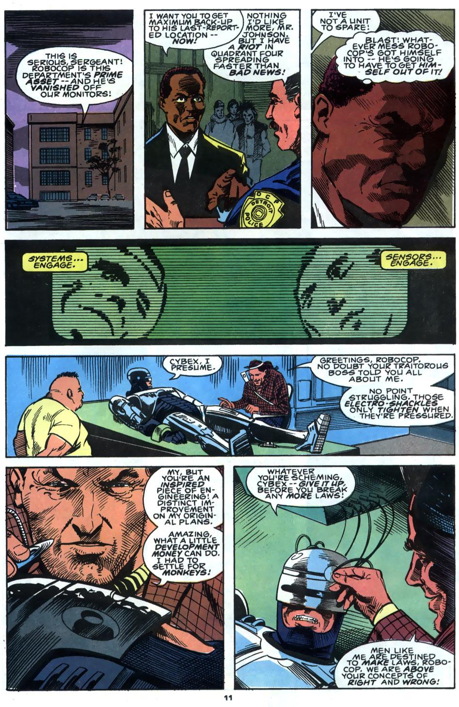 Read online Robocop (1990) comic -  Issue #4 - 9